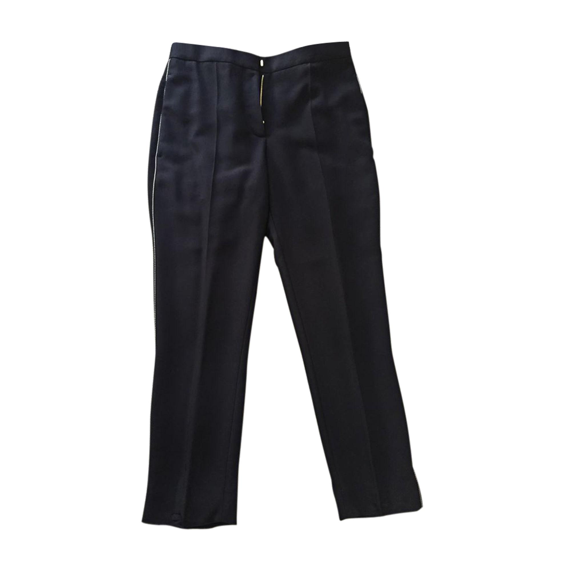 Pantalon droit SONIA RYKIEL Noir