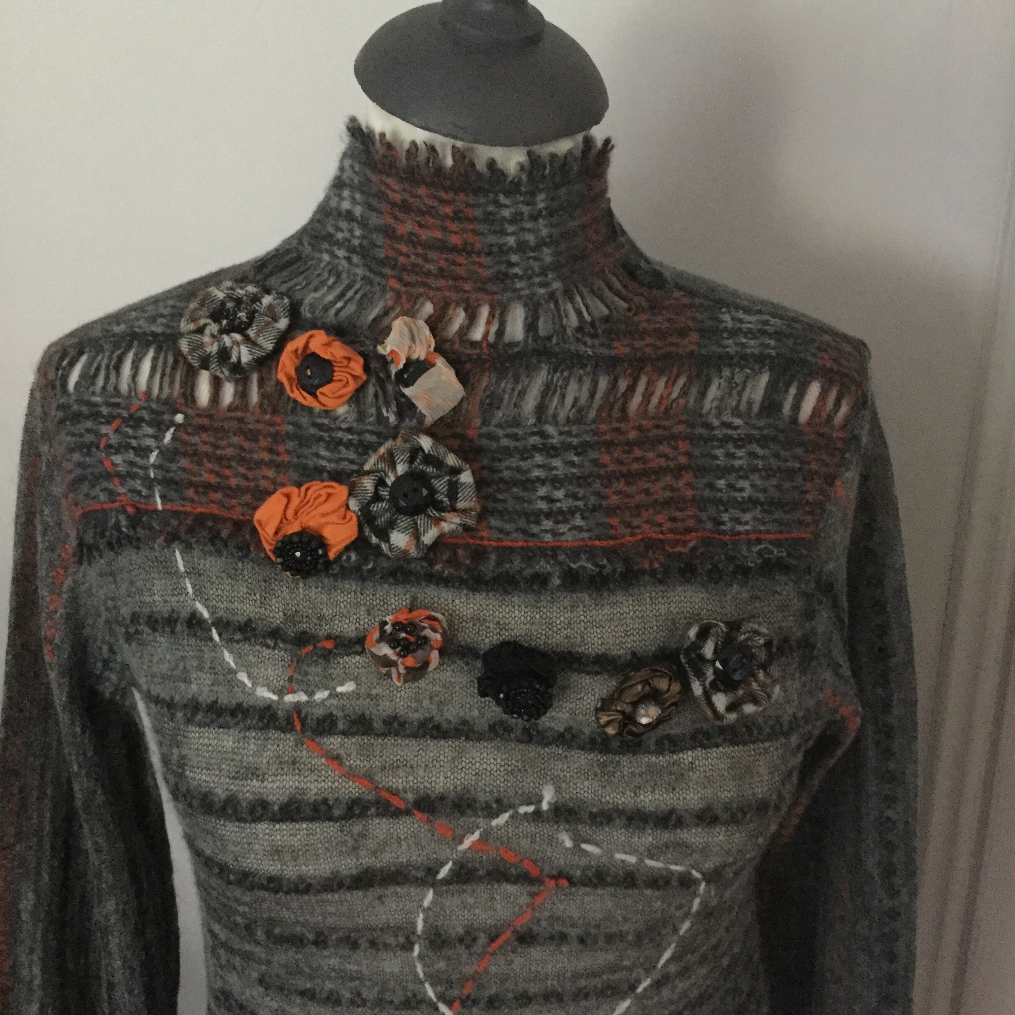 Pull TRICOT CHIC Gris chiné