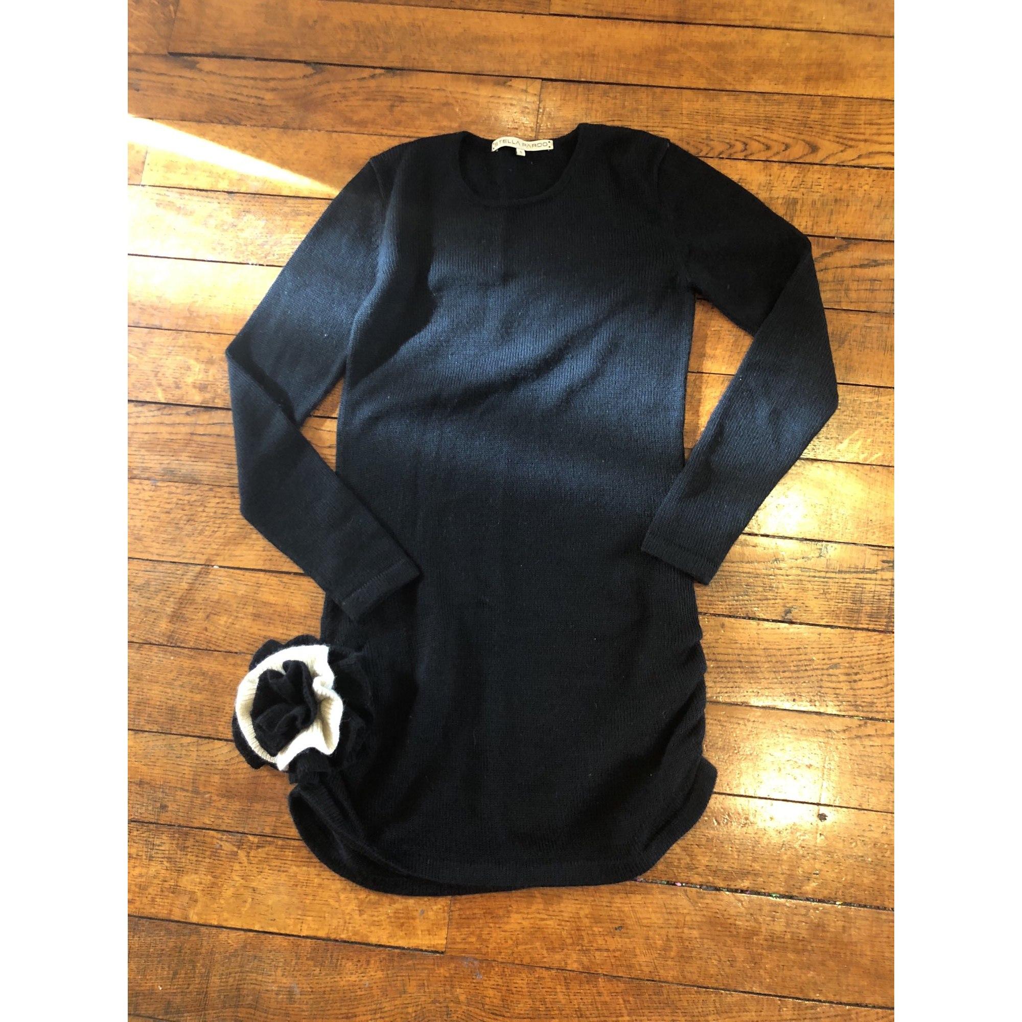 Robe pull STELLA PARDO Noir