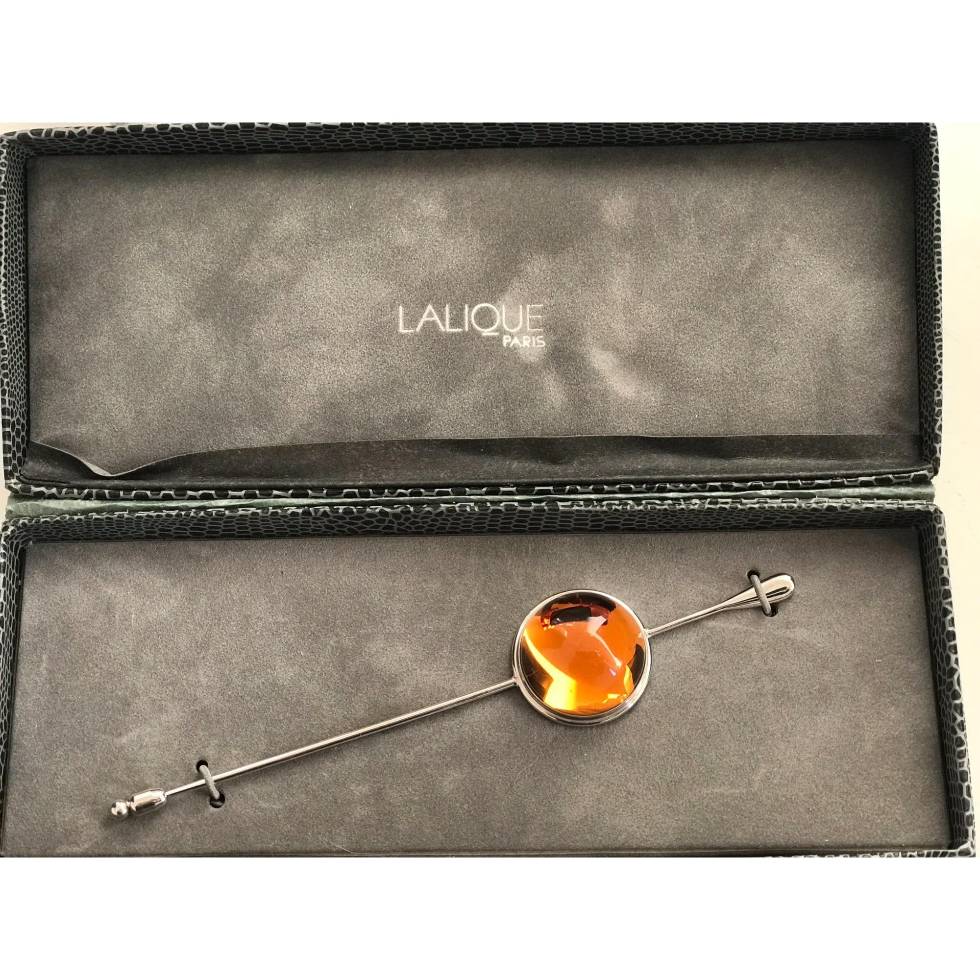 Broche LALIQUE Orange