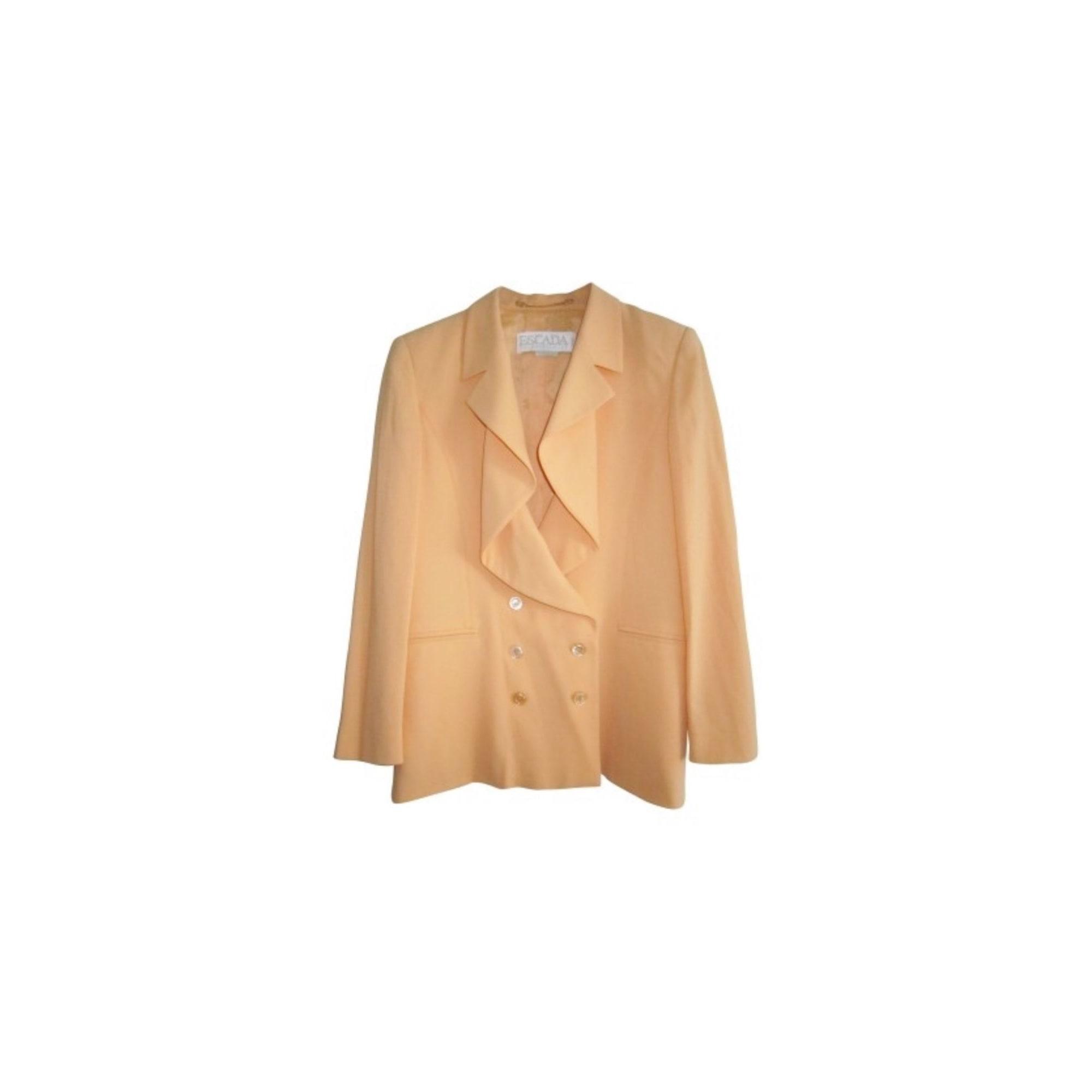 Blazer, veste tailleur ESCADA Orange
