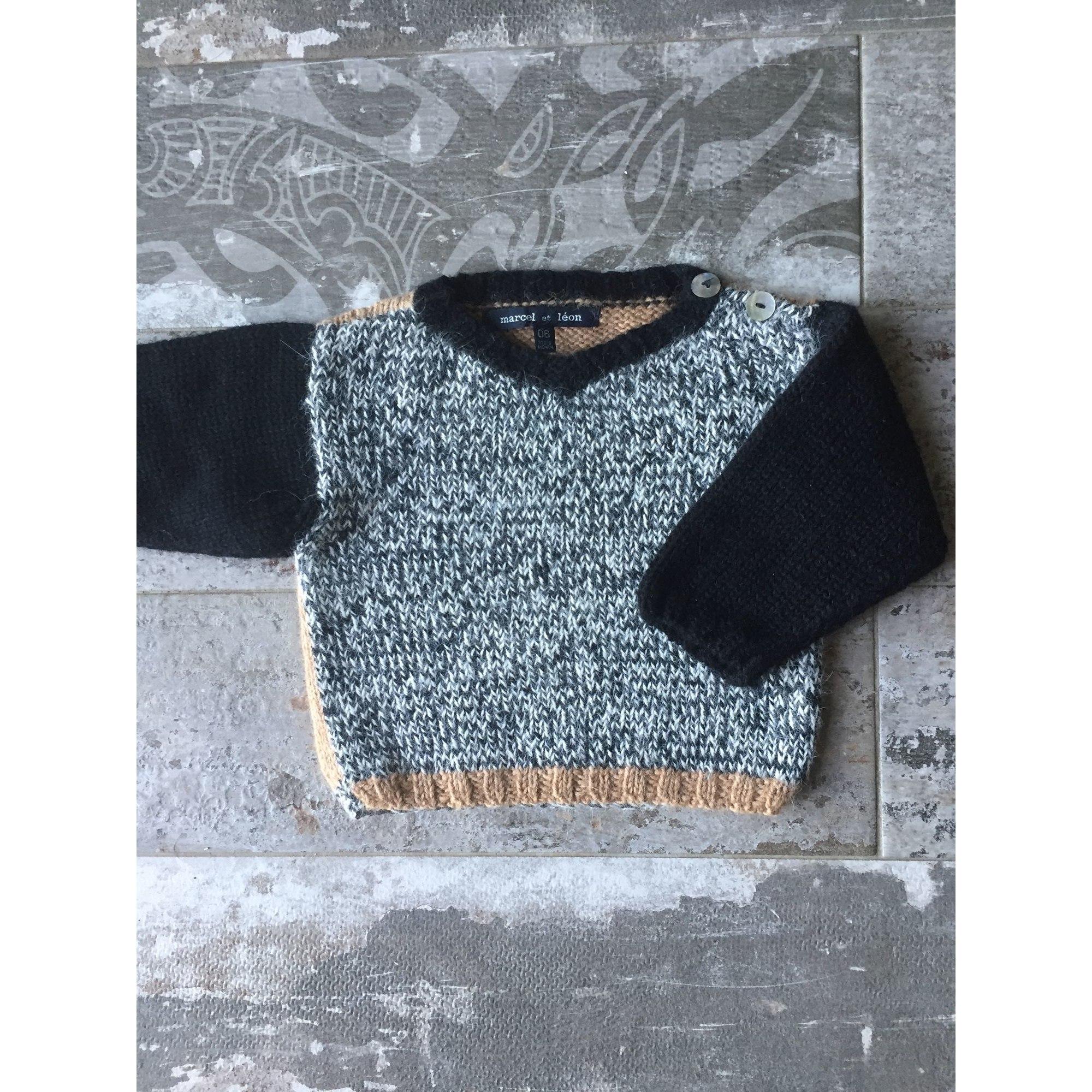 Sweater MARCEL ET LEON Black