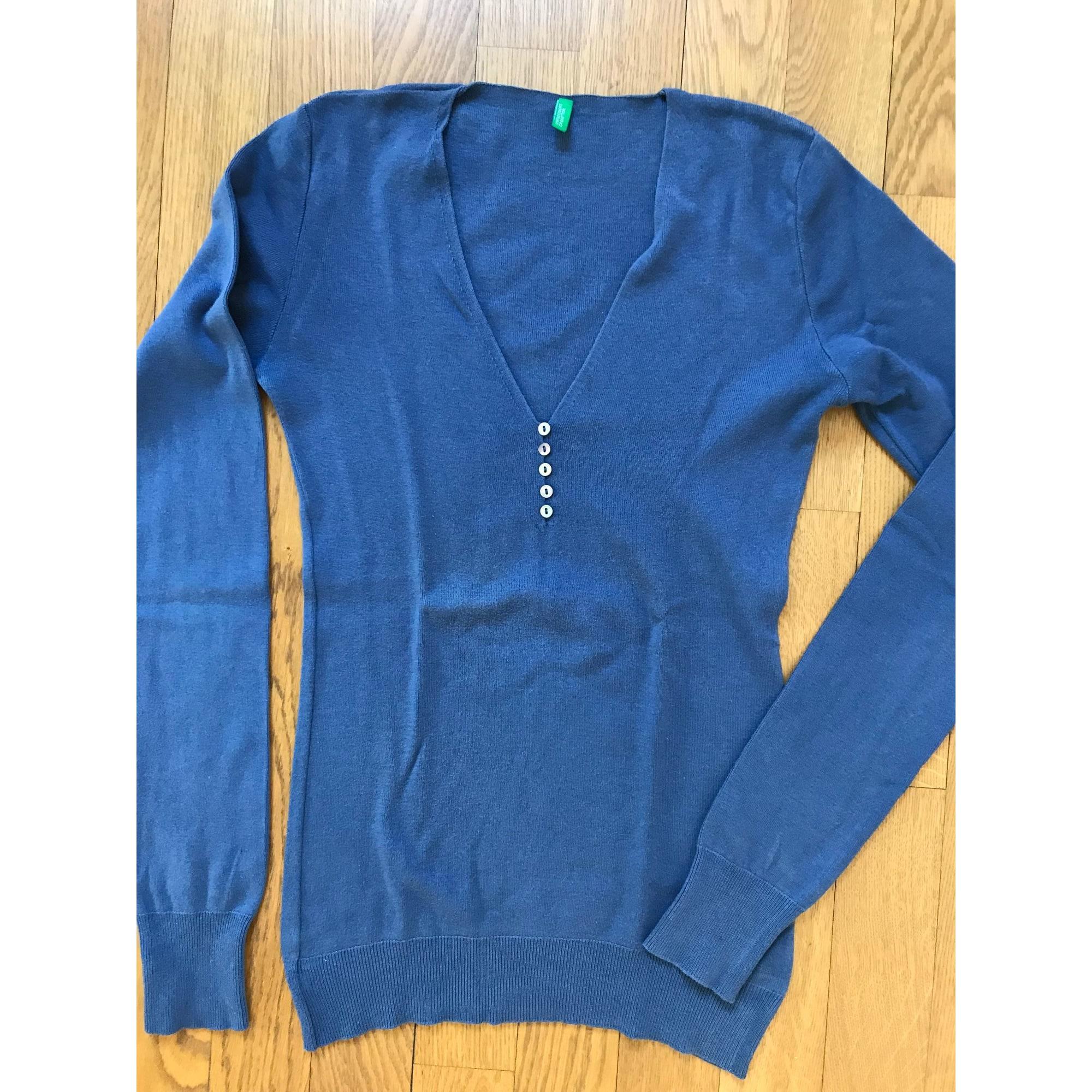 Pull BENETTON Bleu, bleu marine, bleu turquoise