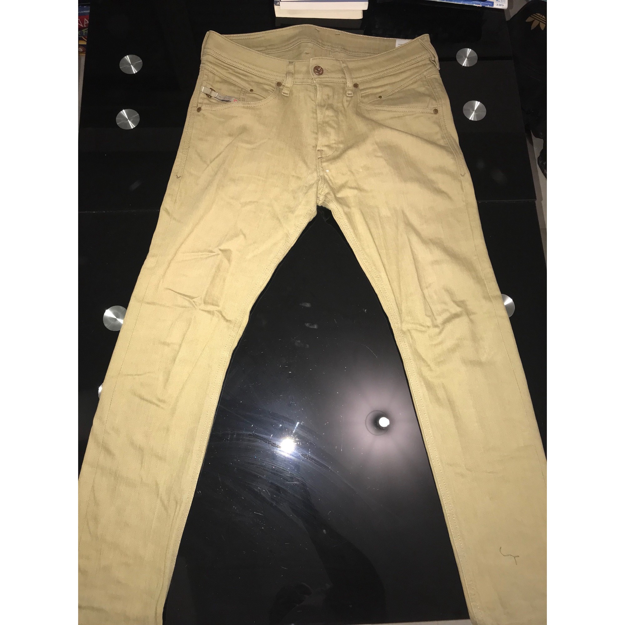 Jeans slim DIESEL Kaki