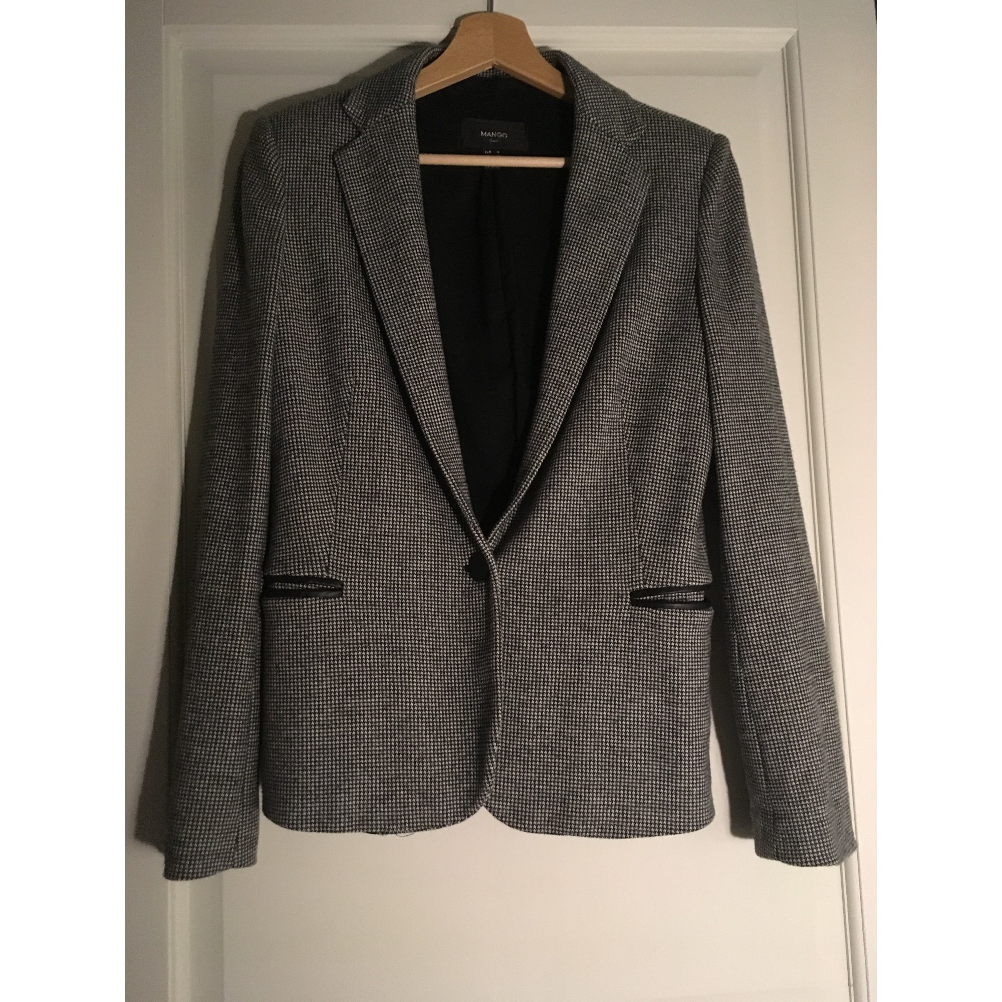 Blazer, veste tailleur MANGO Gris, anthracite