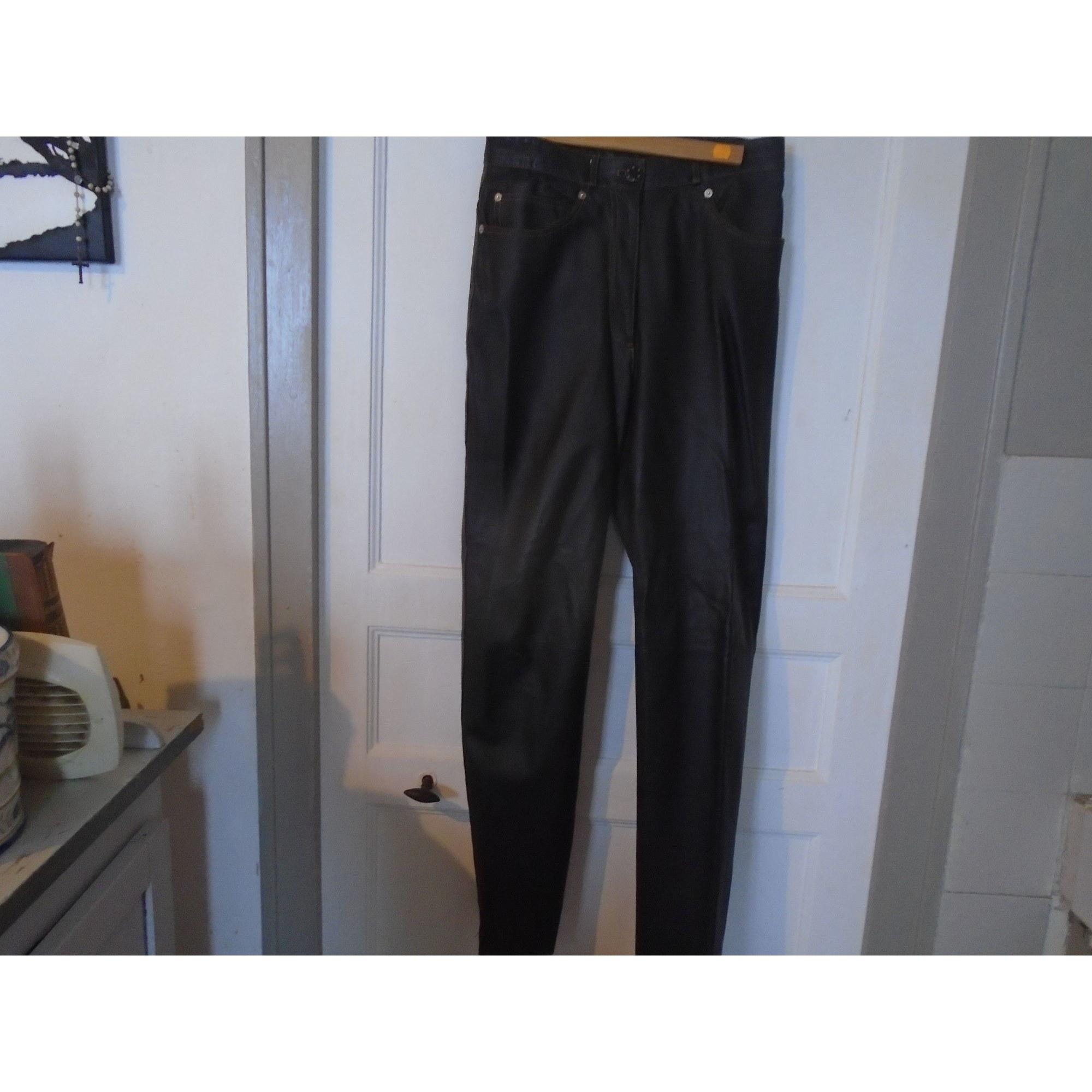 Pantalon droit NINA RICCI Marron