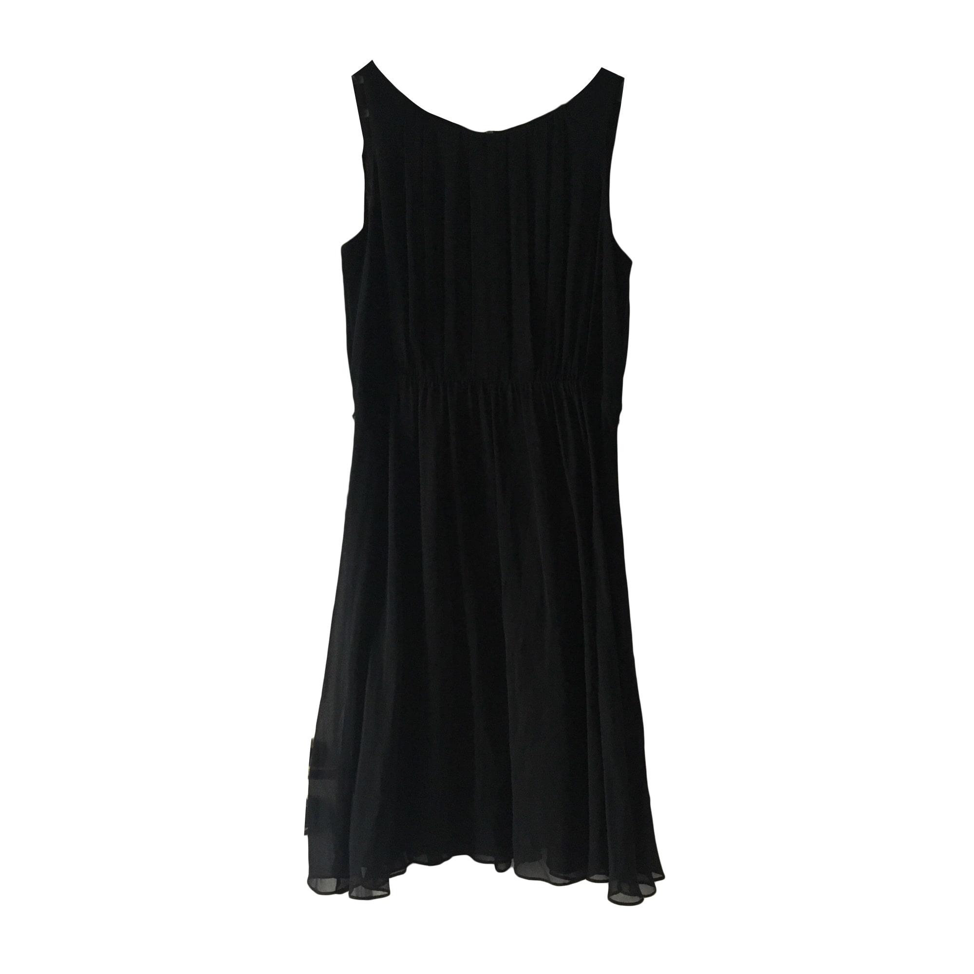 Robe mi-longue APOSTROPHE Noir