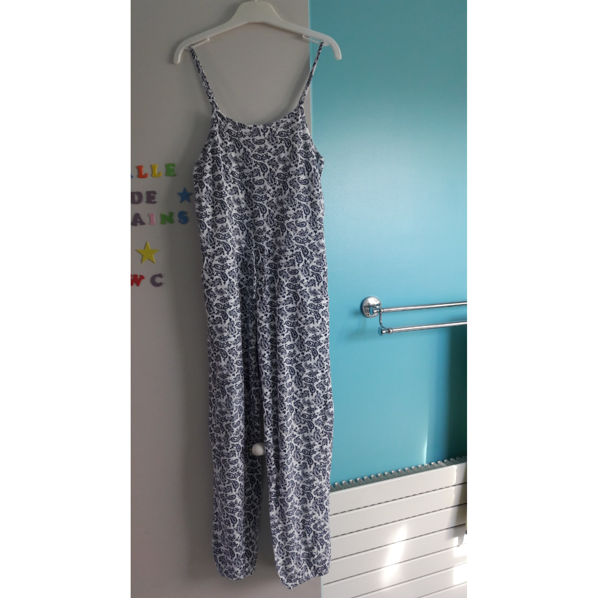 Ensemble & Combinaison pantalon MONOPRIX Bleu, bleu marine, bleu turquoise