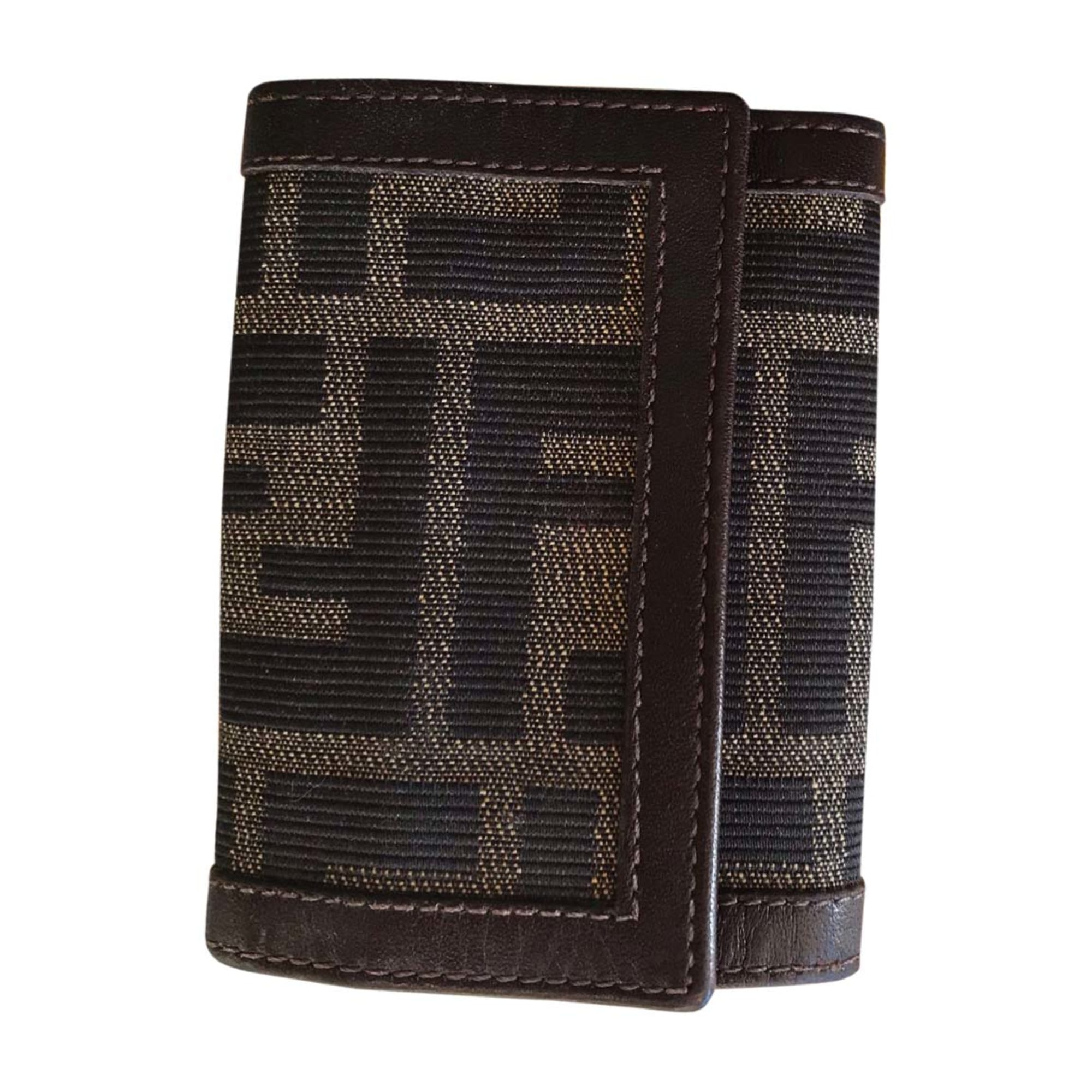 Porte documents, serviette FENDI Marron