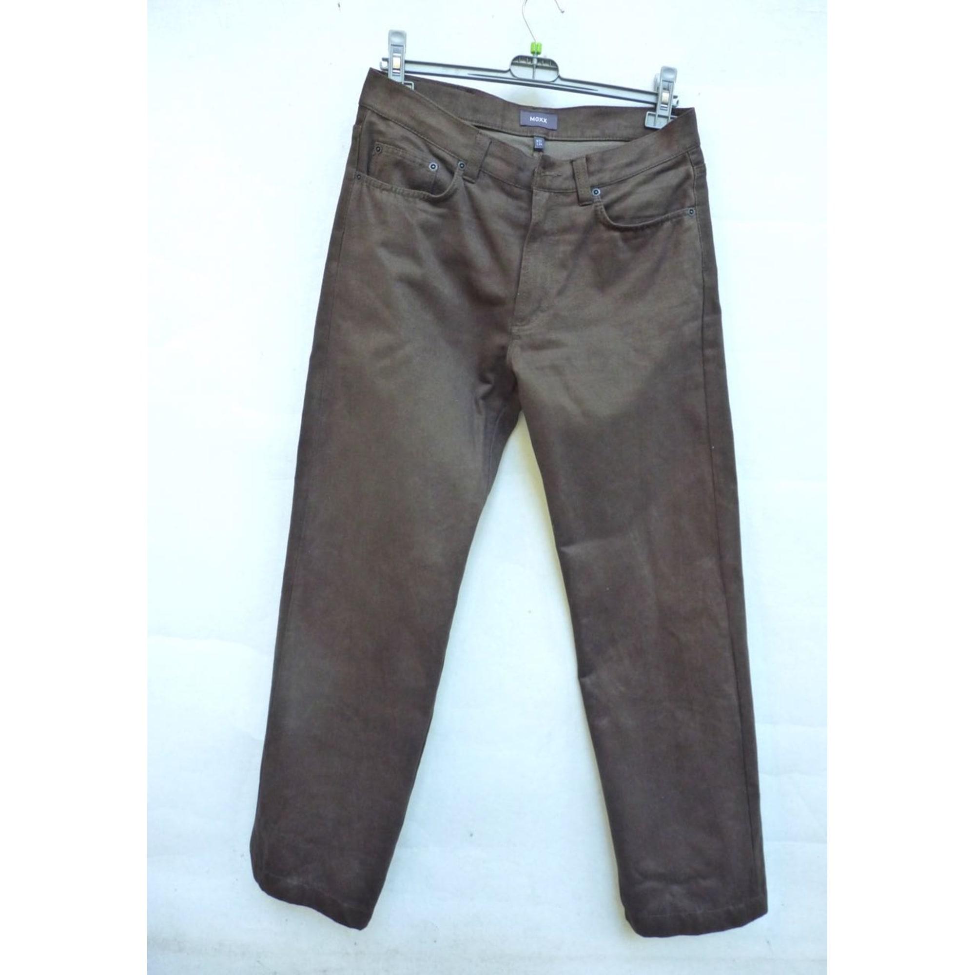 Pantalon droit MEXX Marron