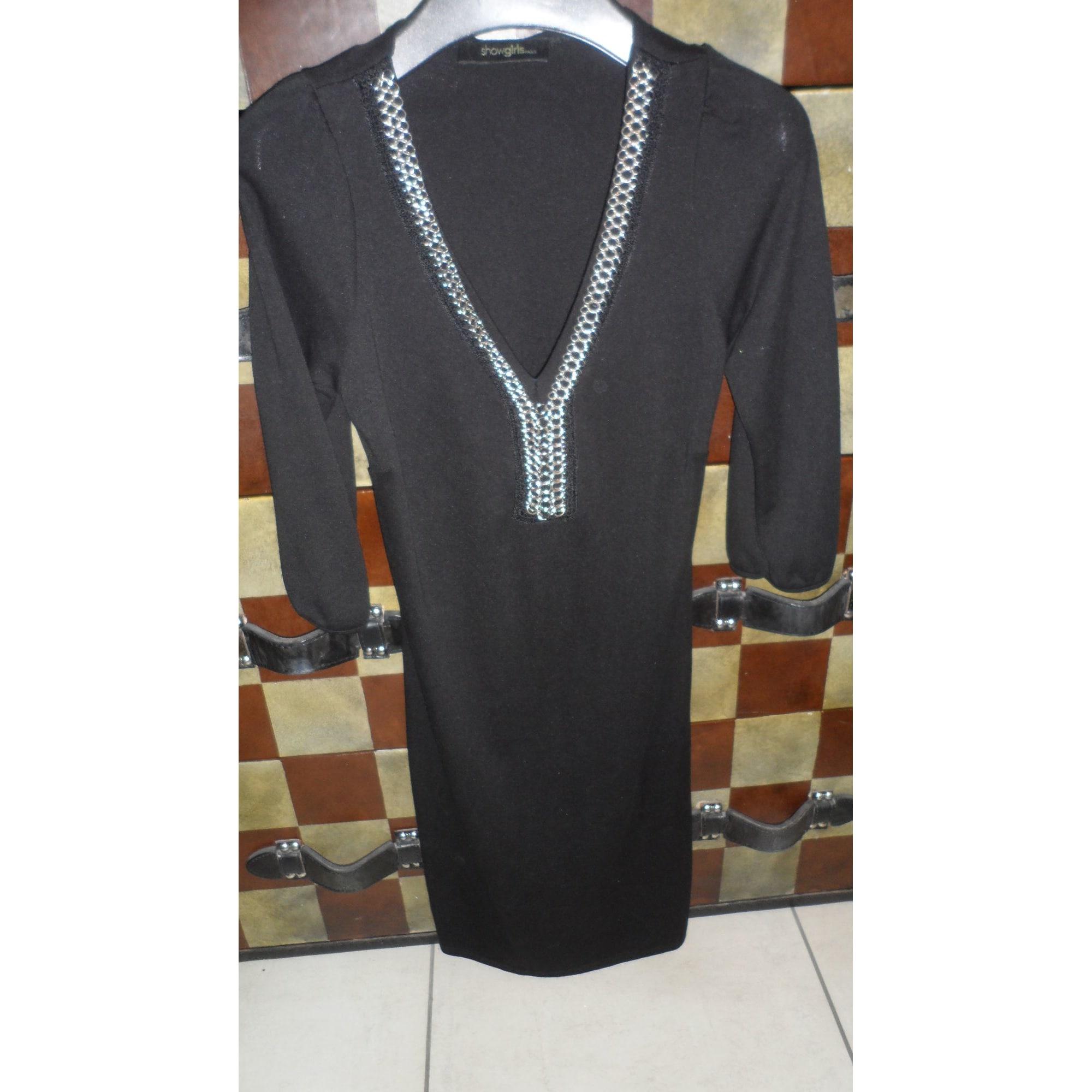 Robe courte SHOW GIRLS Noir