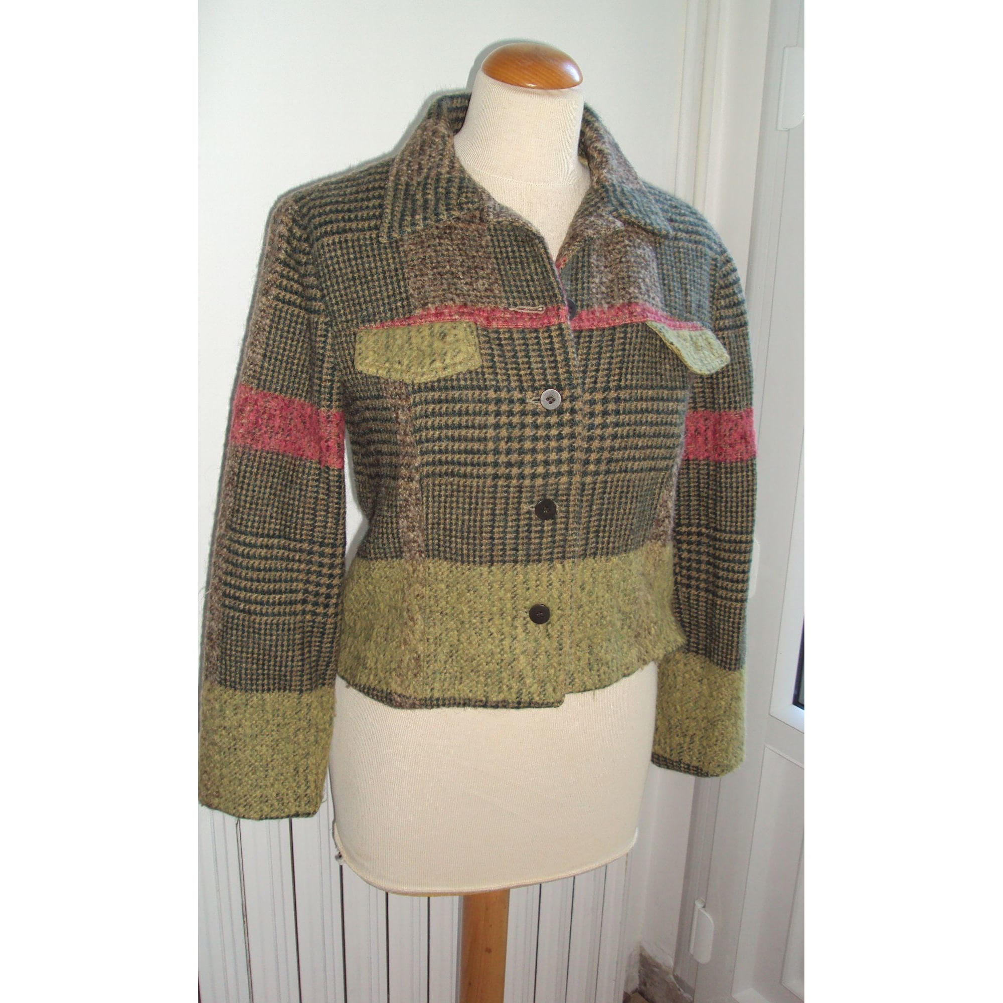 Blazer, veste tailleur LEONE Vert