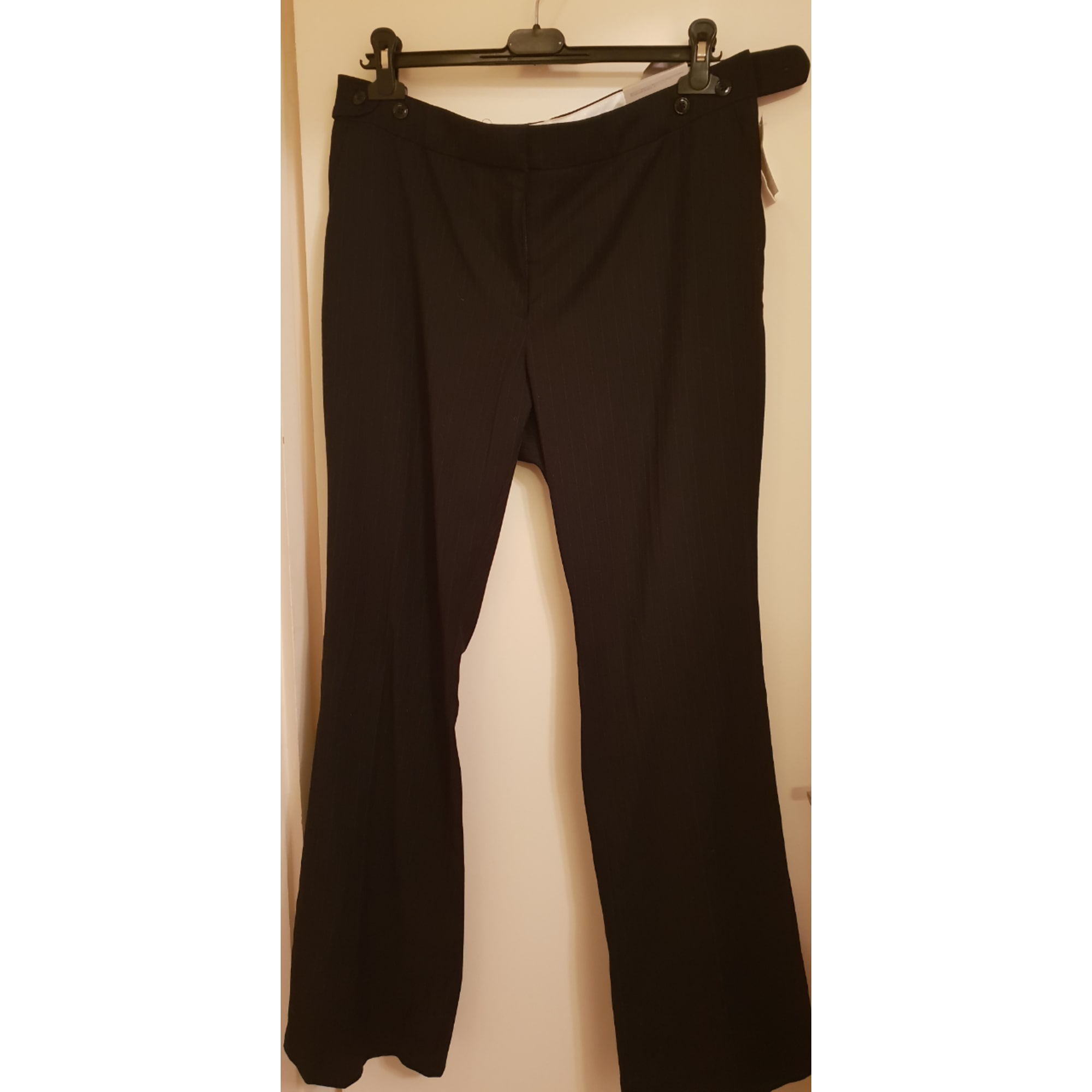 Pantalon droit H&M Noir