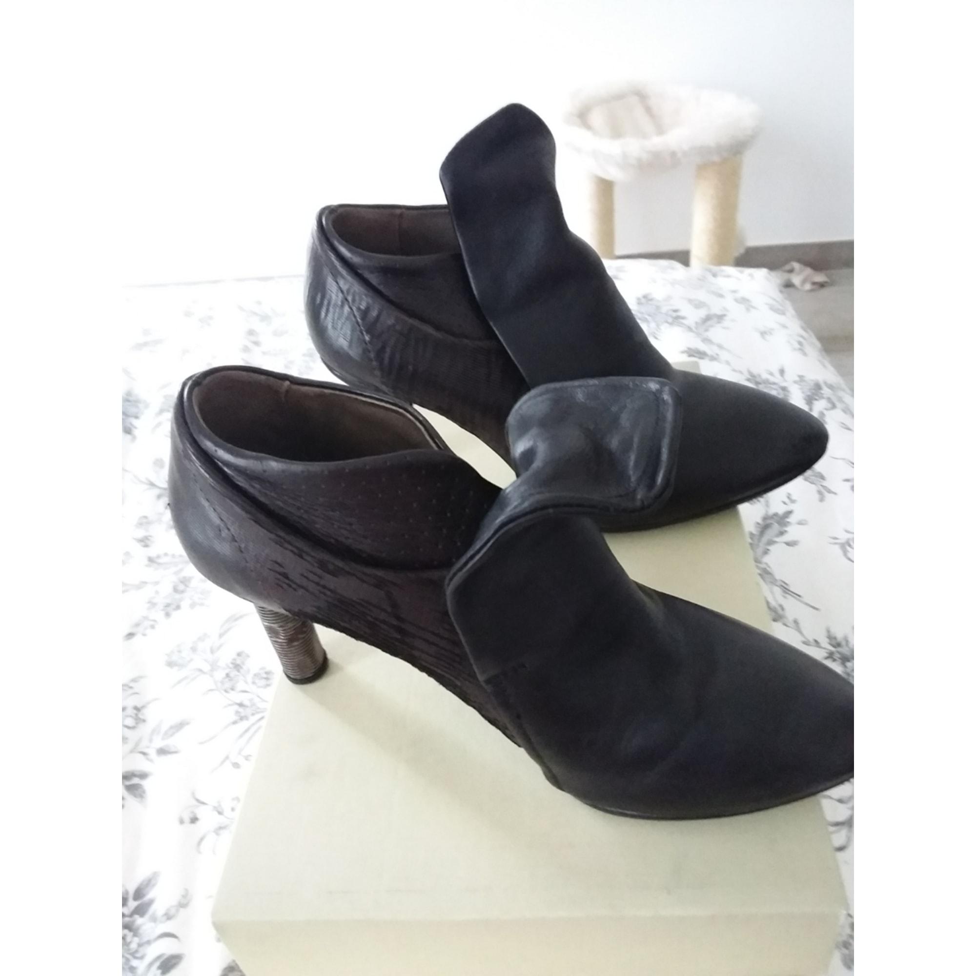Bottines & low boots à talons AIR STEP Noir