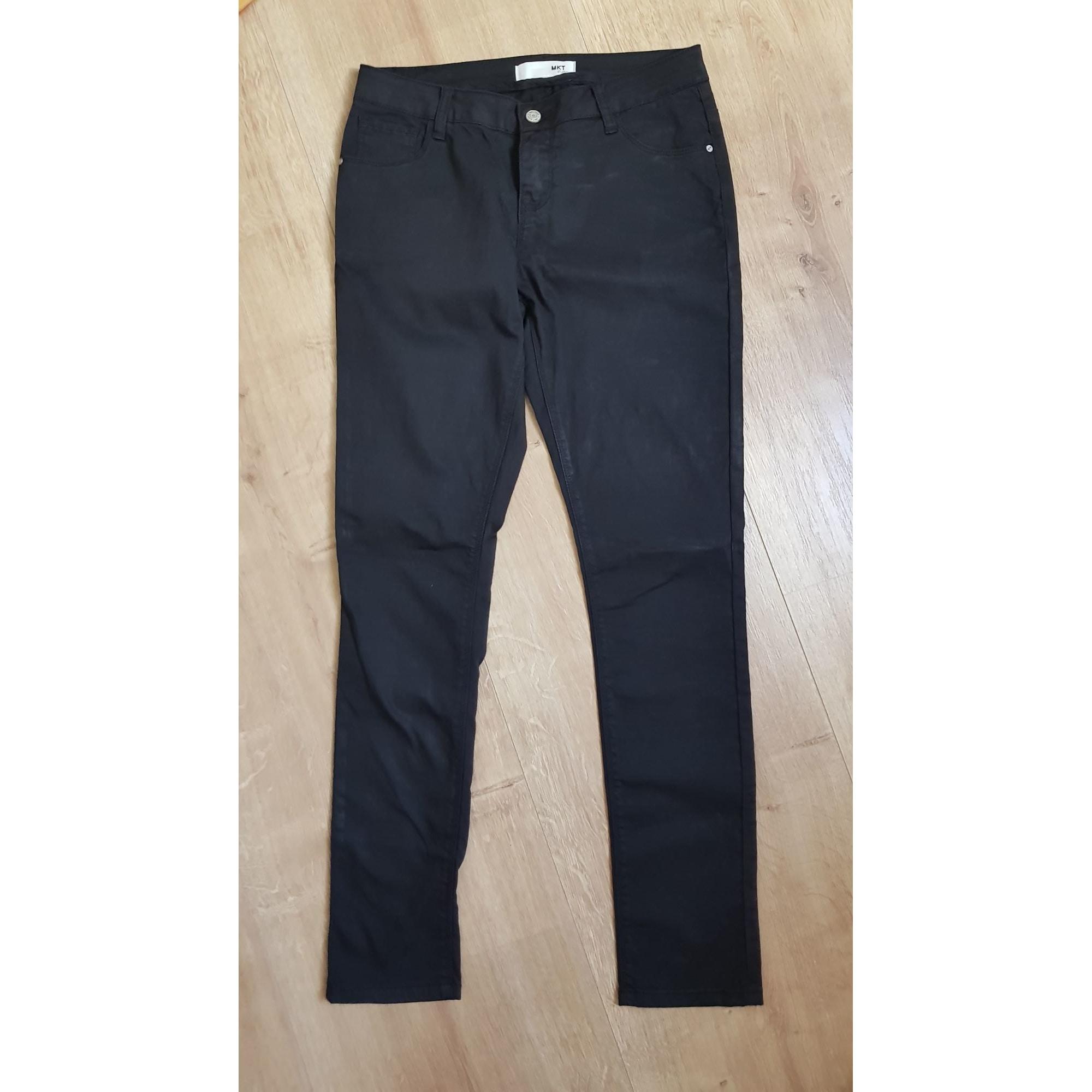 Pantalon droit MKT Noir
