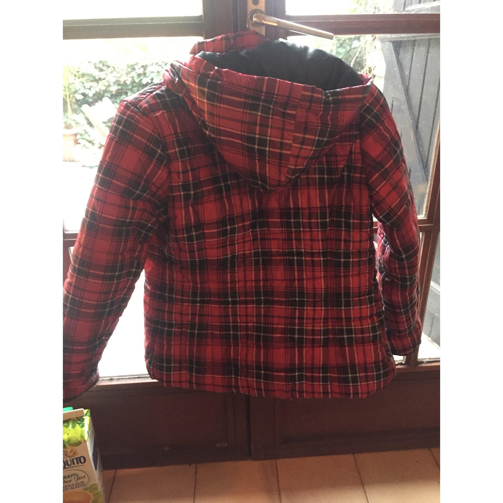 Coat DDP Red, burgundy