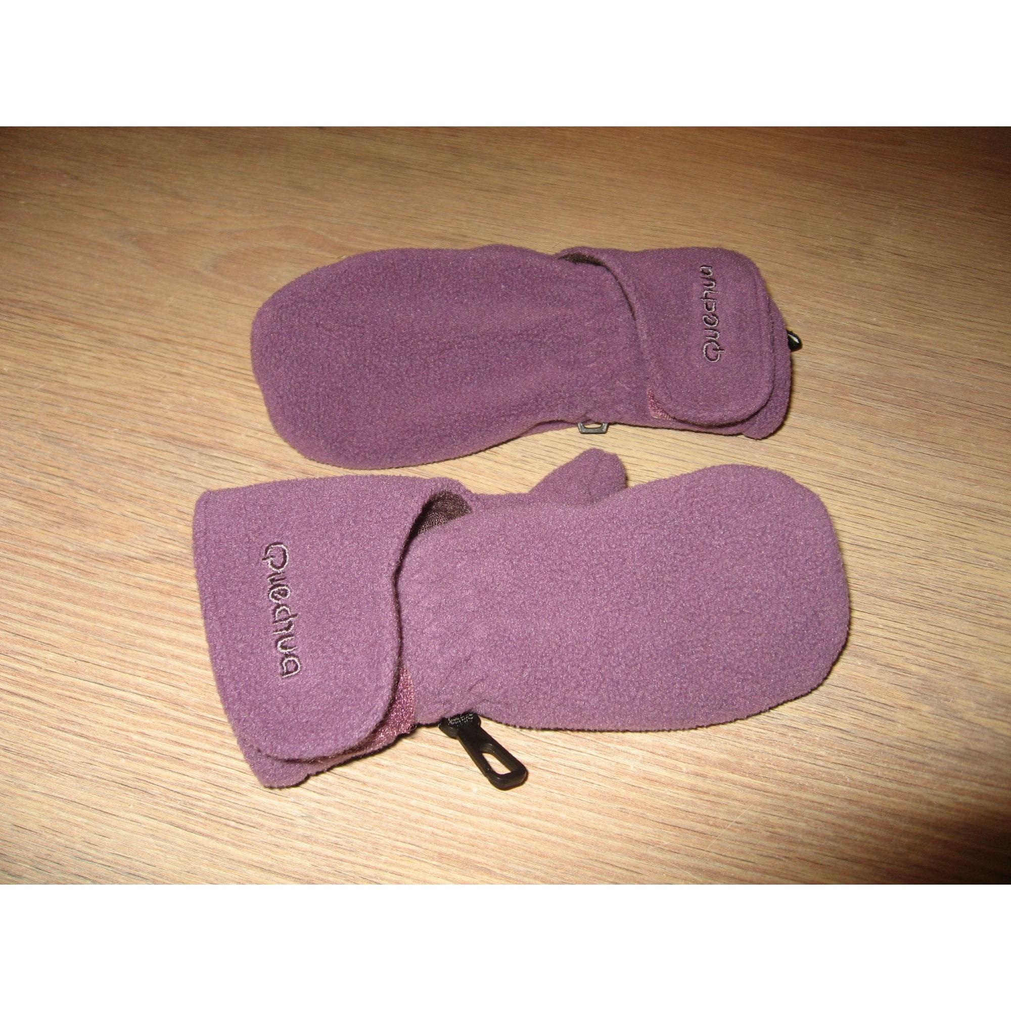 Moufles  QUECHUA Violet, mauve, lavande