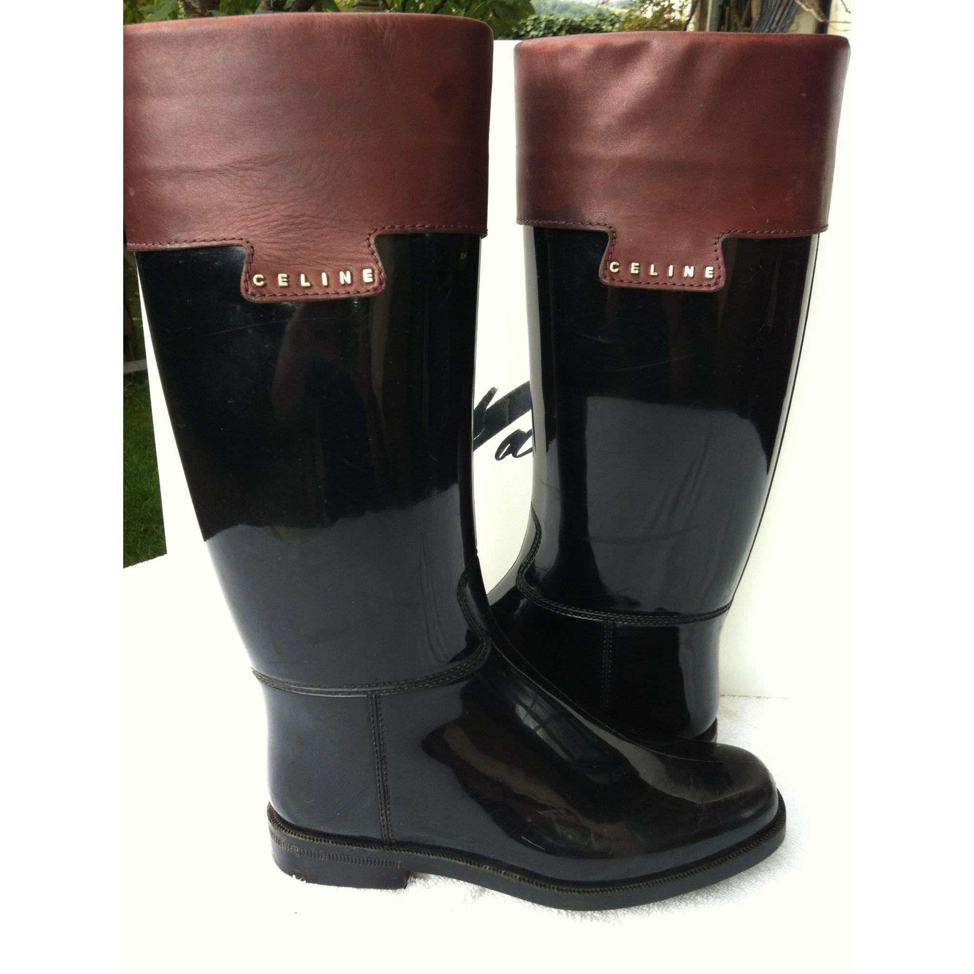 bottes de pluie celine