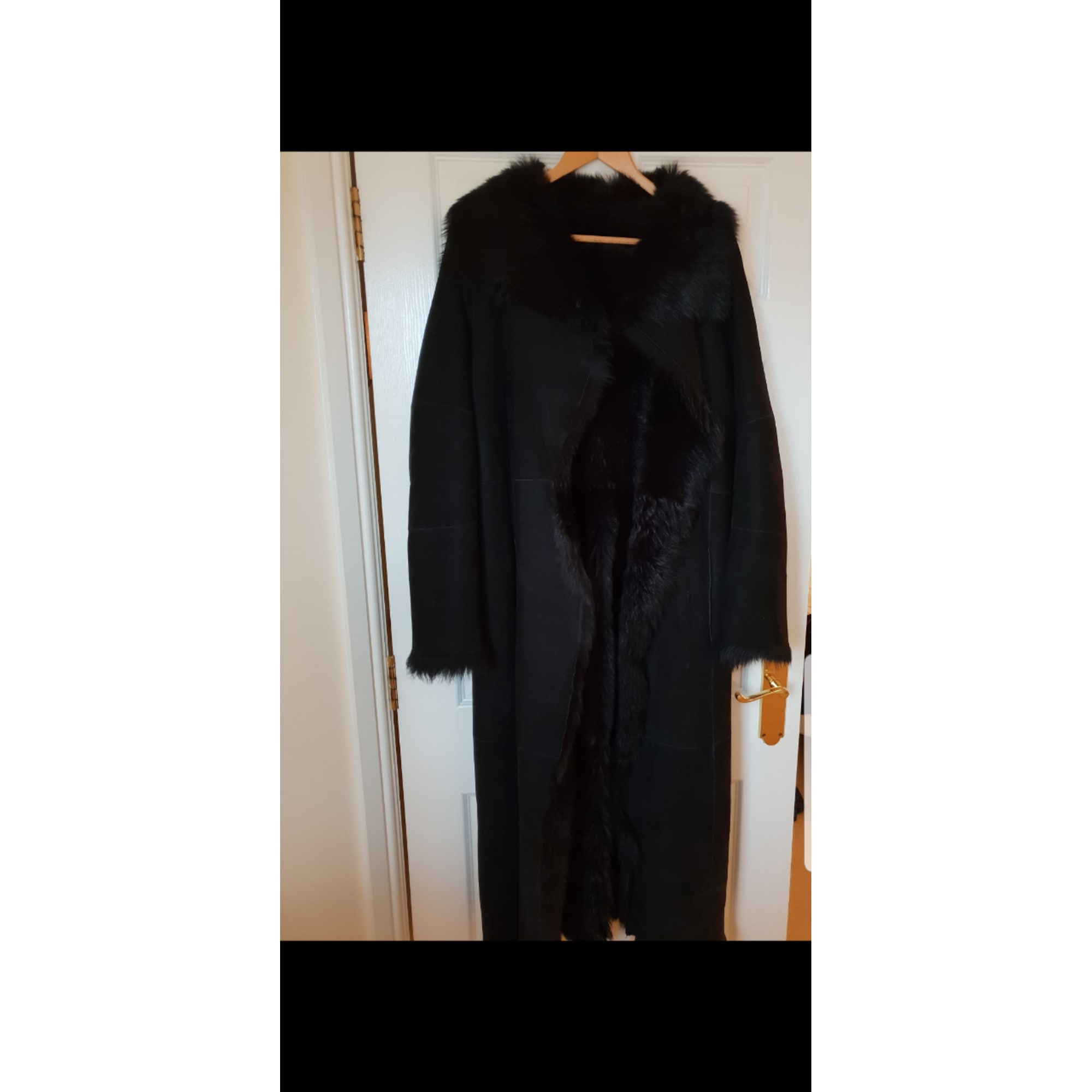 Manteau en fourrure JOSEPH Noir