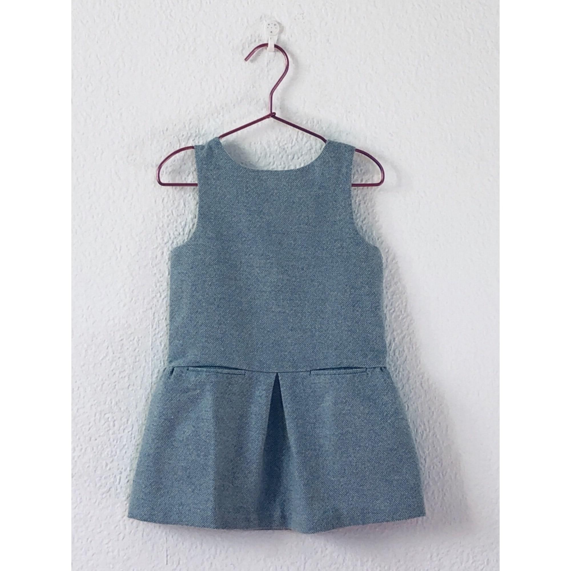Robe JACADI Bleu, bleu marine, bleu turquoise