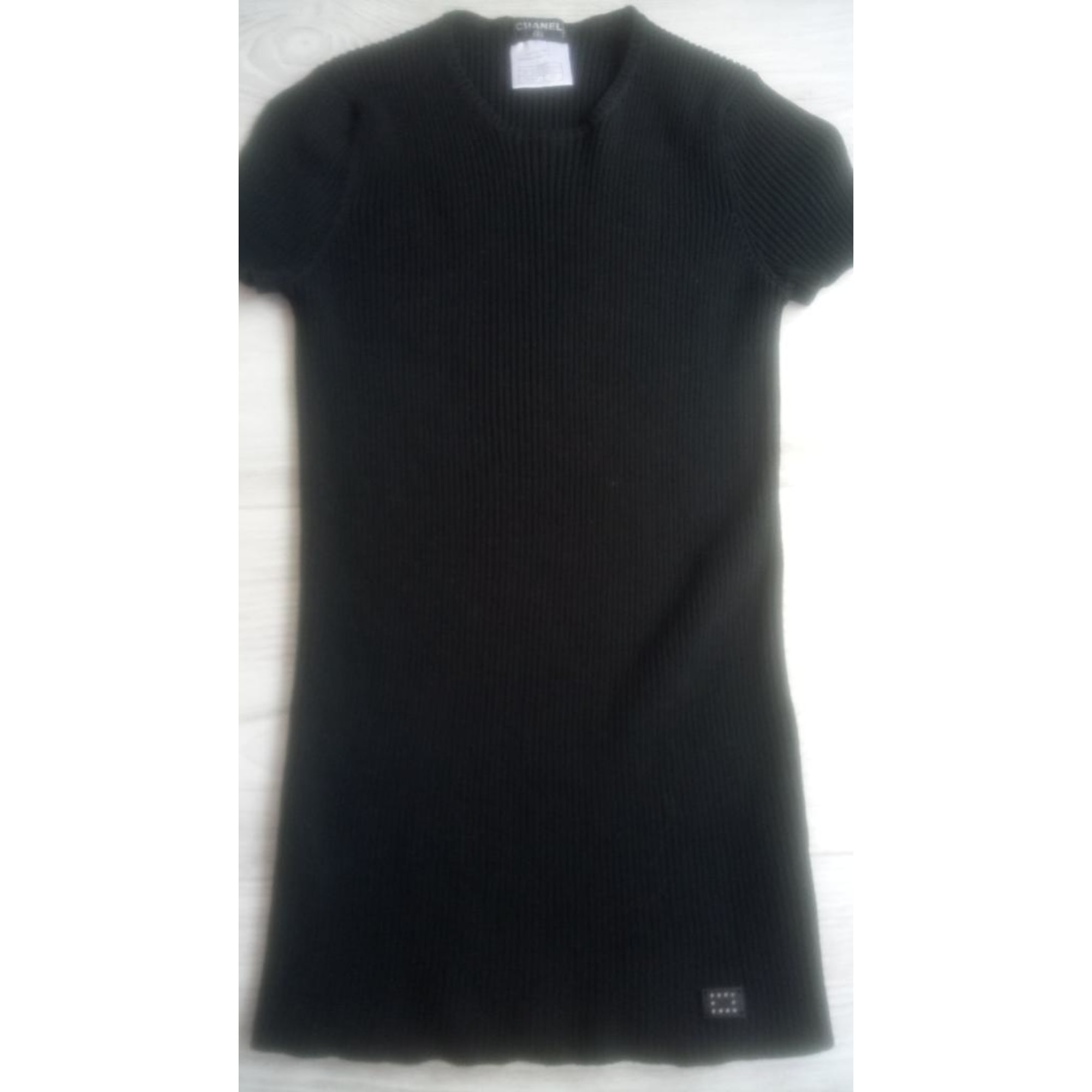 Top, tee-shirt CHANEL Noir