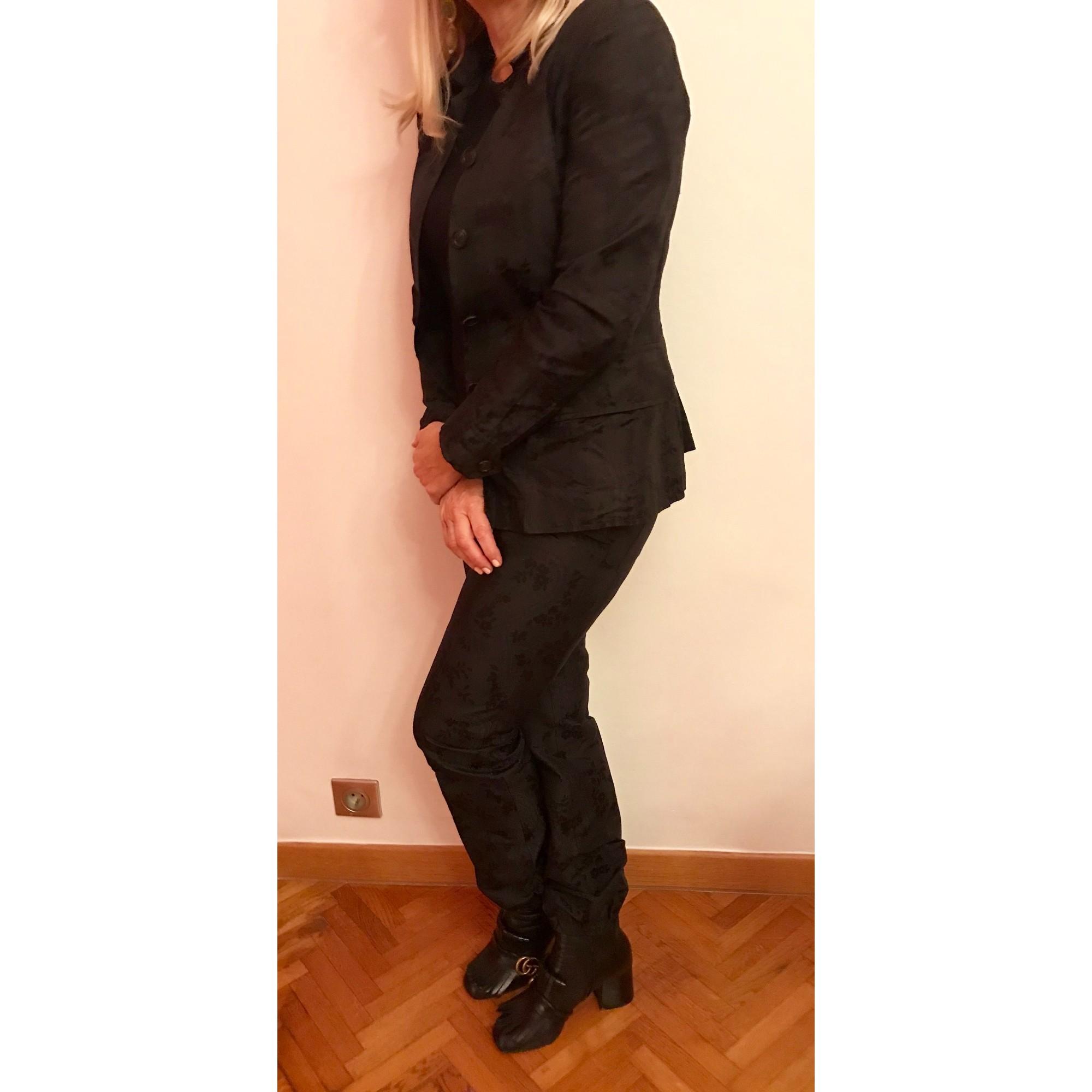 Tailleur pantalon PRADA Noir