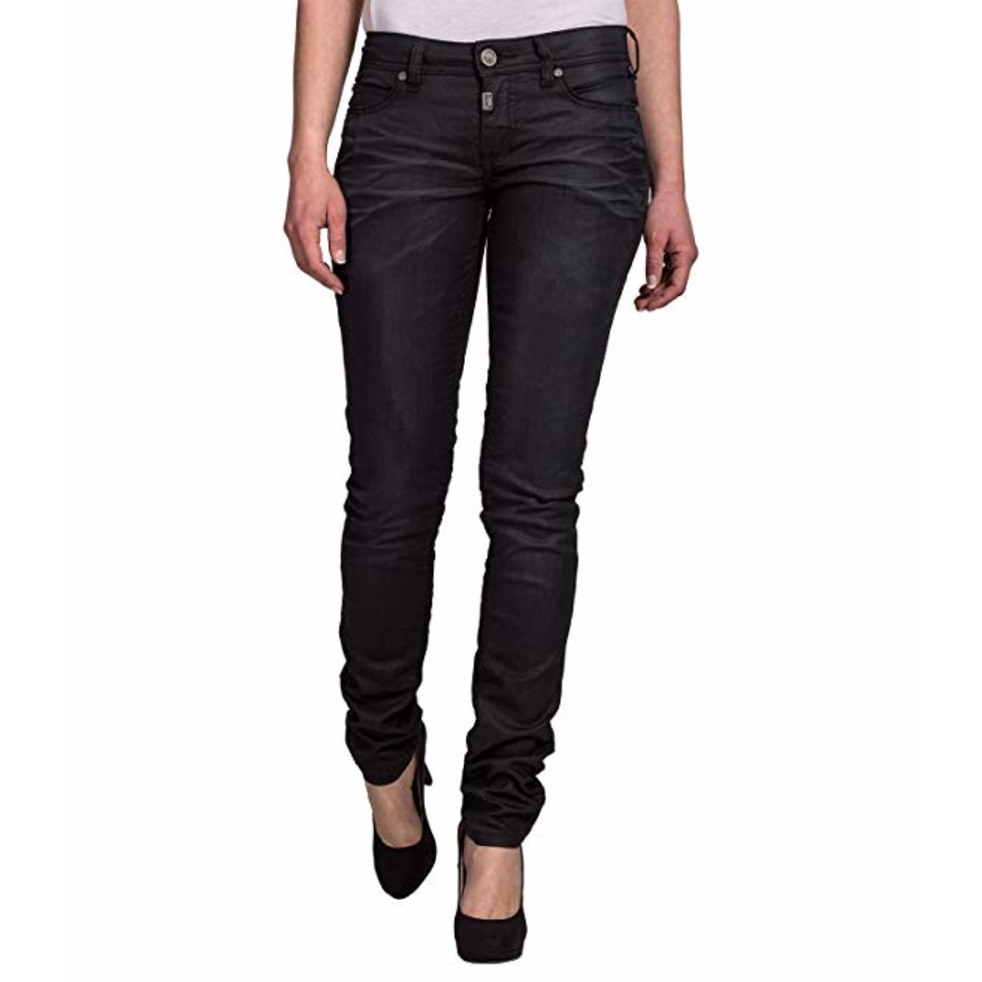 Jeans slim TIMEZONE Noir