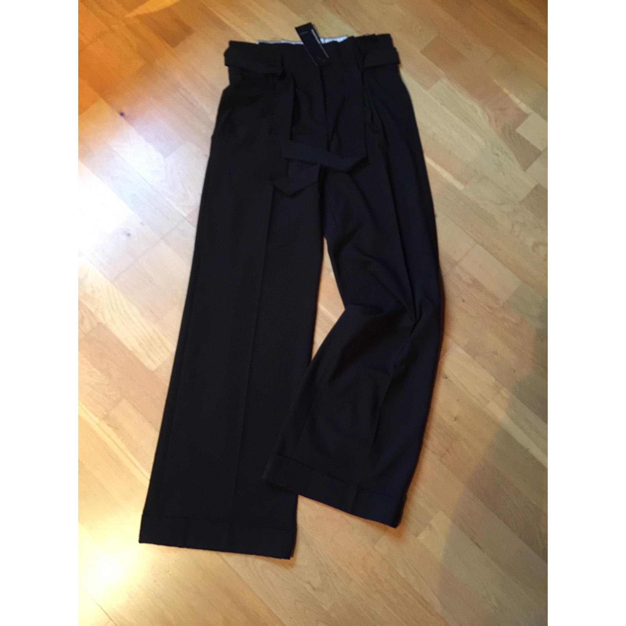 Pantalon Large Naf Naf 36 S T1 Noir Vendu Par Malingre 8273596
