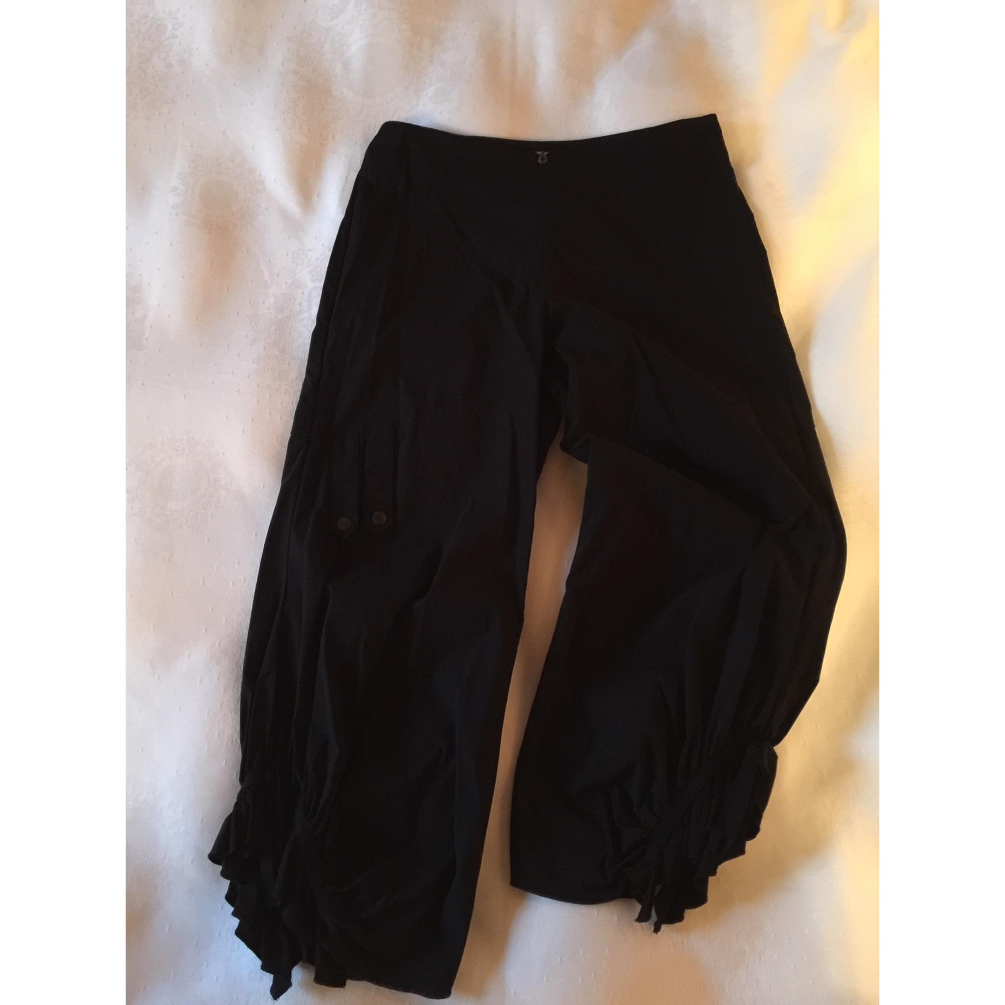 Pantalon évasé SEPIA Noir