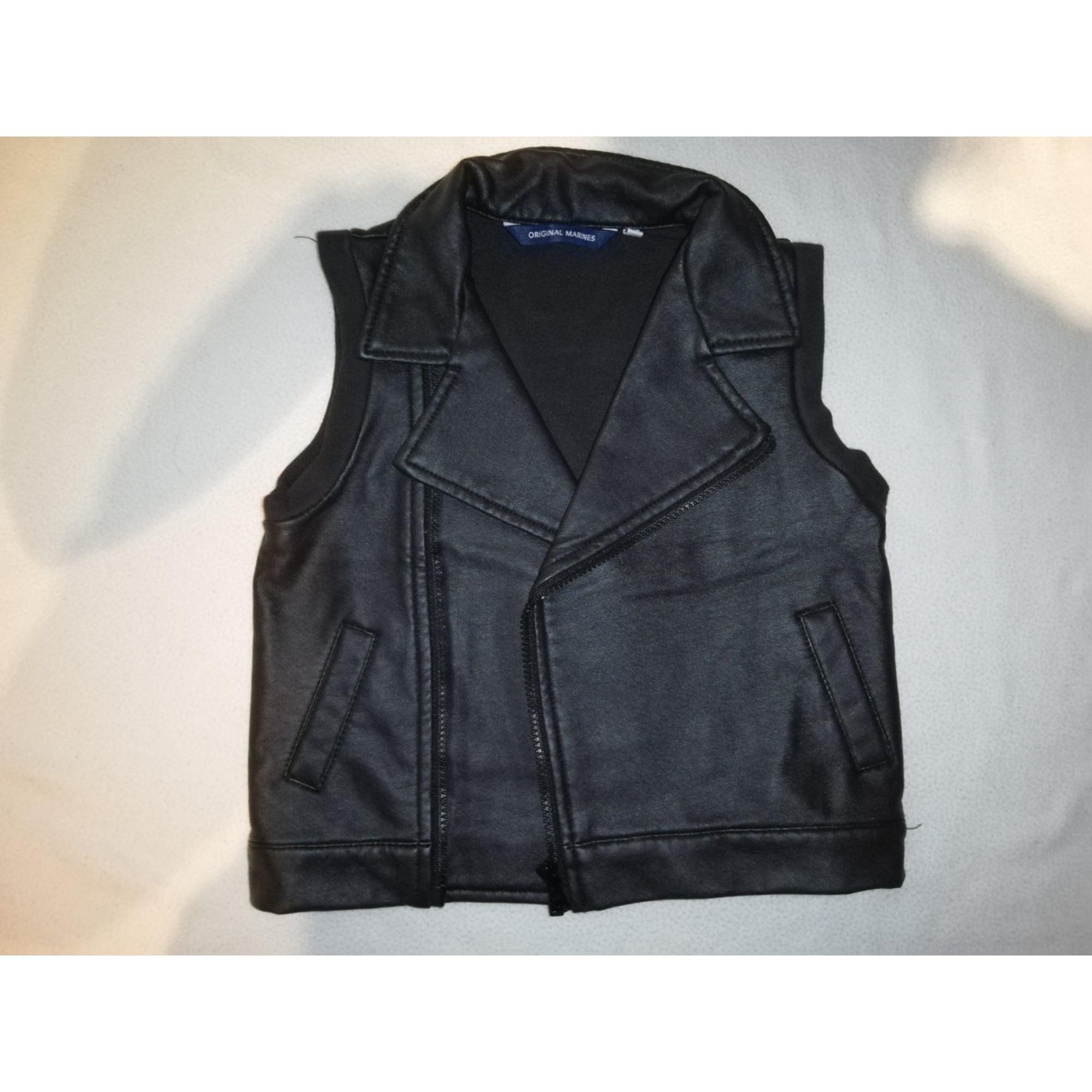 Vest, Cardigan ORIGINAL MARINES Black