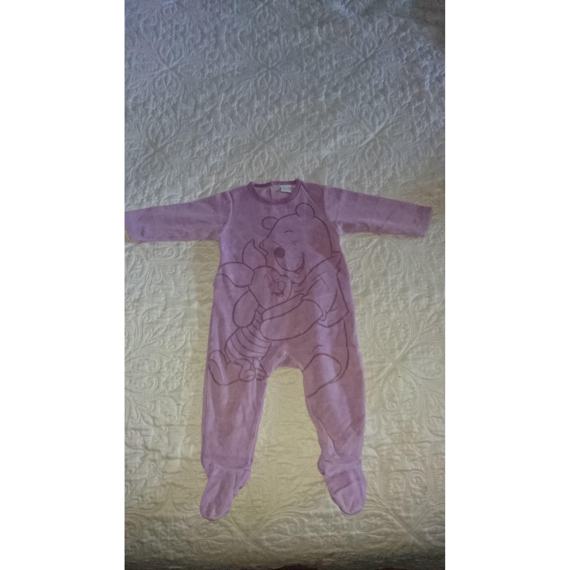 Pyjama DISNEY Violet, mauve, lavande