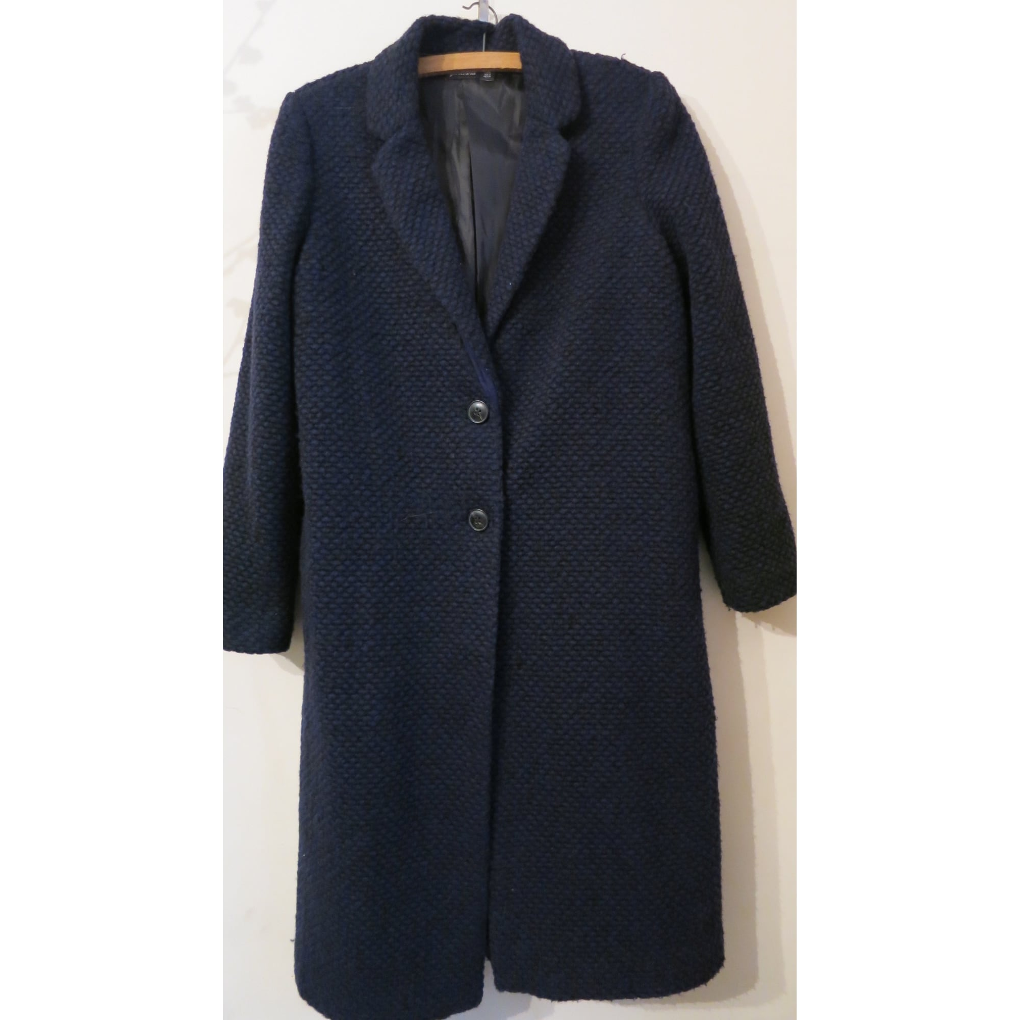 Manteau STRADIVARIUS Bleu, bleu marine, bleu turquoise