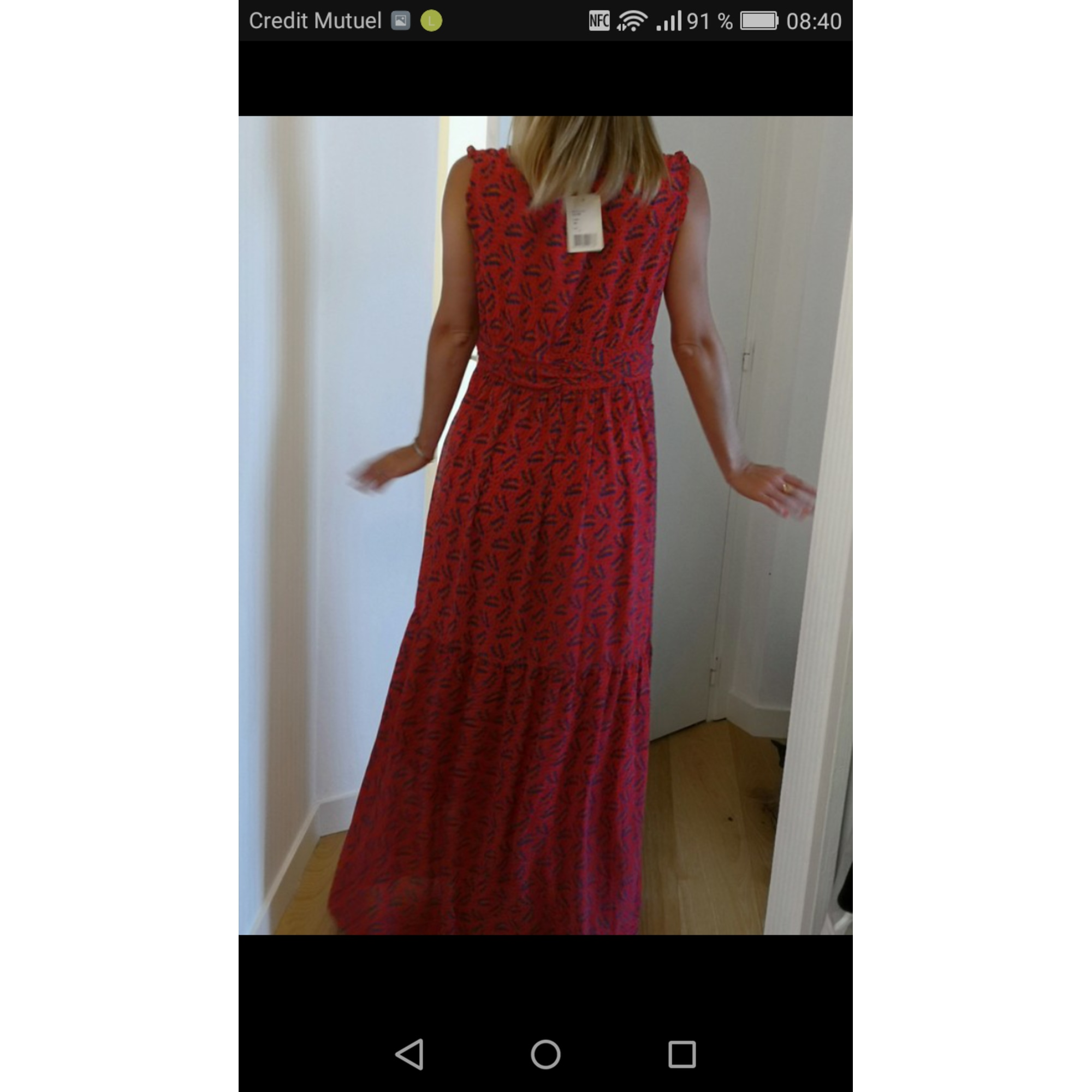 Robe Longue See U Soon 40 L T3 Rouge 8306256