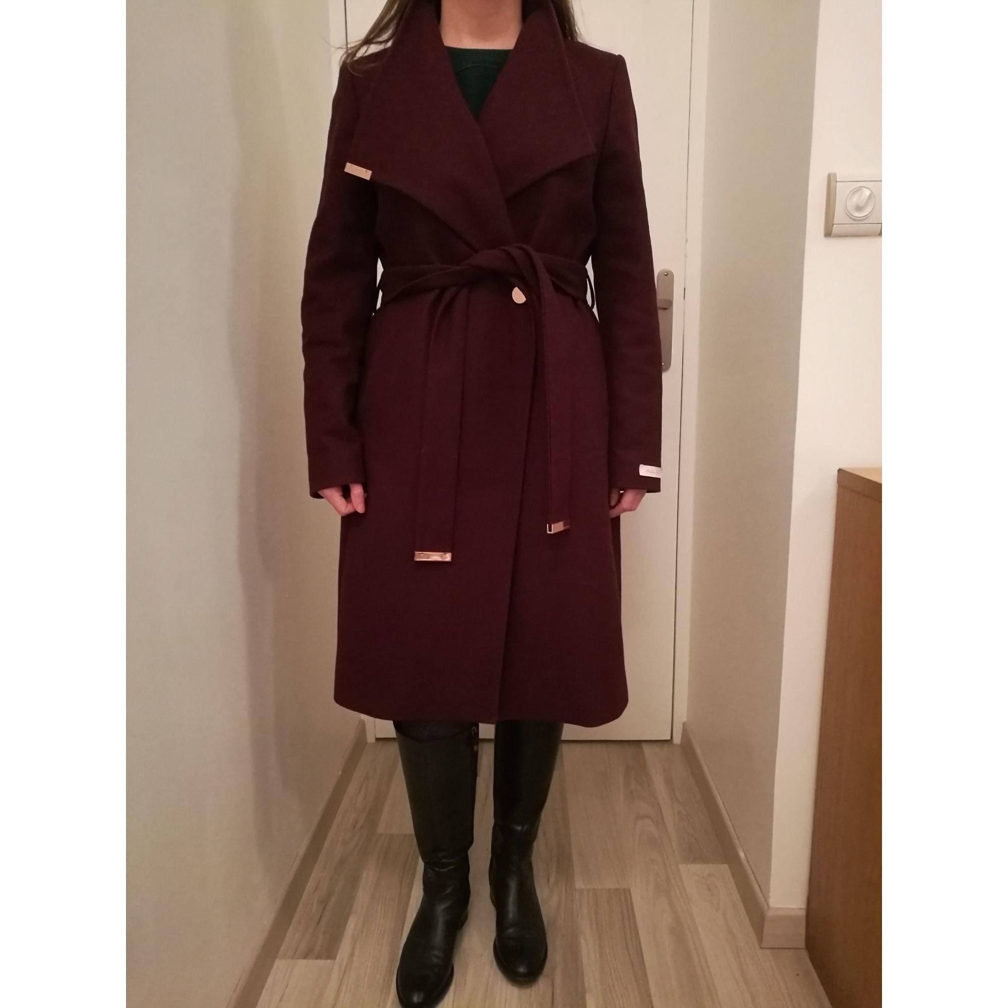 Manteau TED BAKER 42 (LXL, T4) rouge vendu par Elorav 8308333