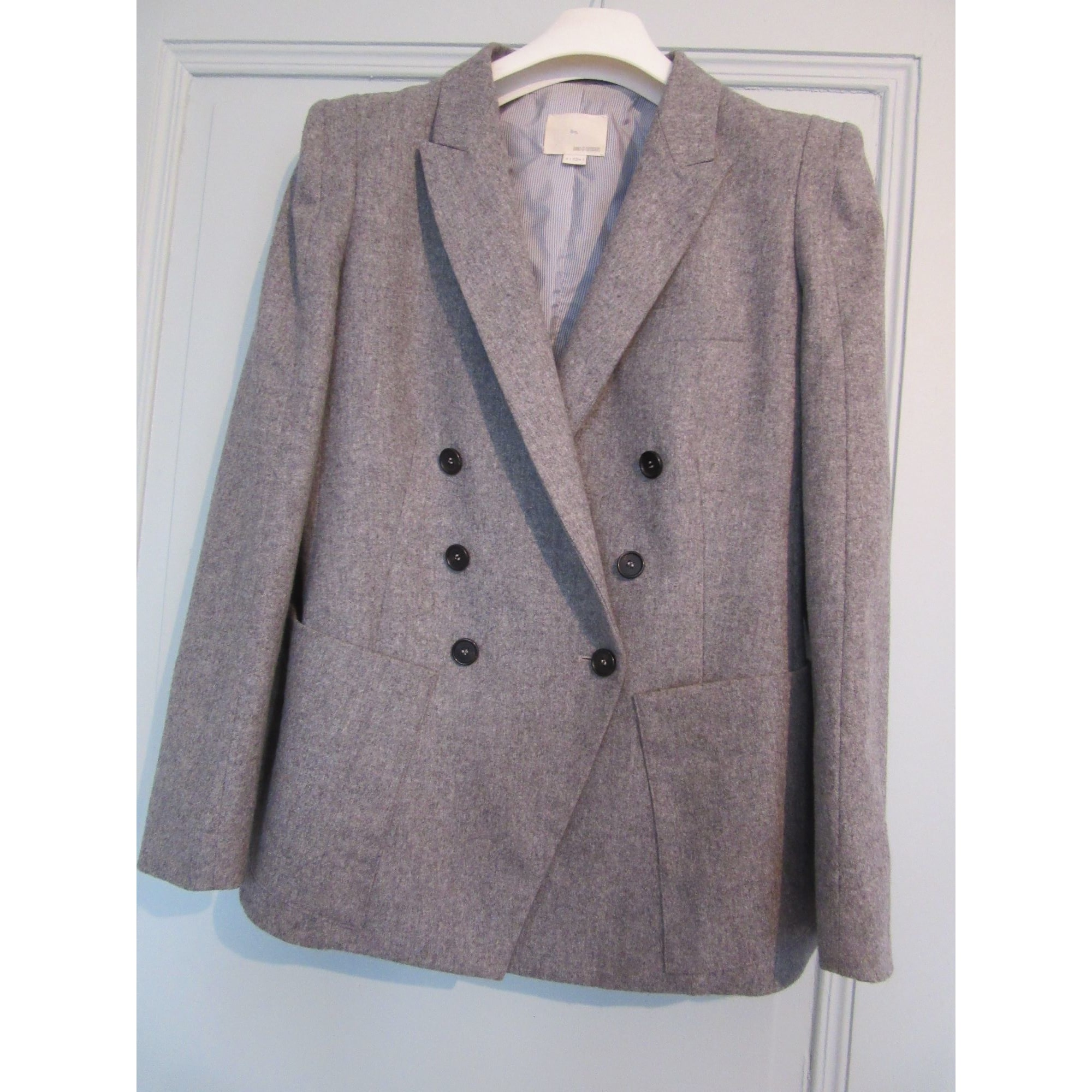 Blazer, veste tailleur BAND OF OUTSIDERS Gris, anthracite