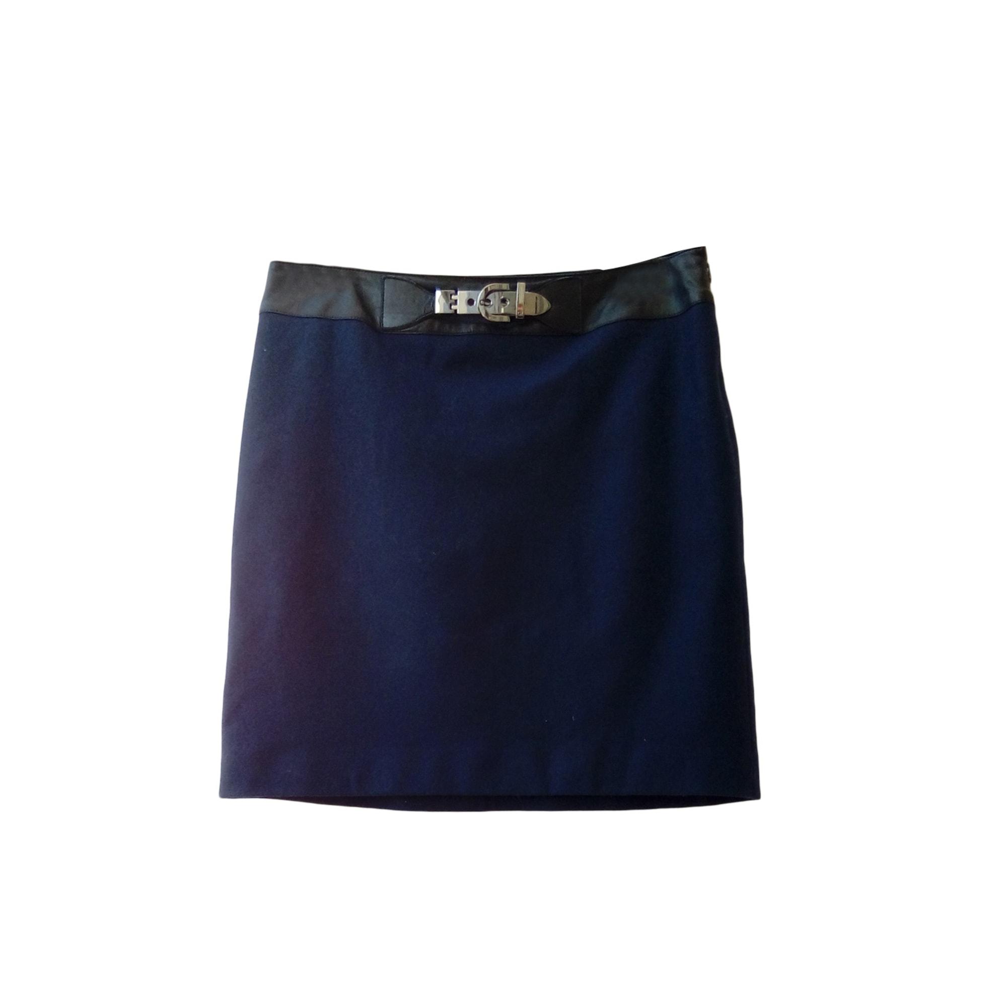 Jupe mi-longue GEORGES RECH Bleu, bleu marine, bleu turquoise