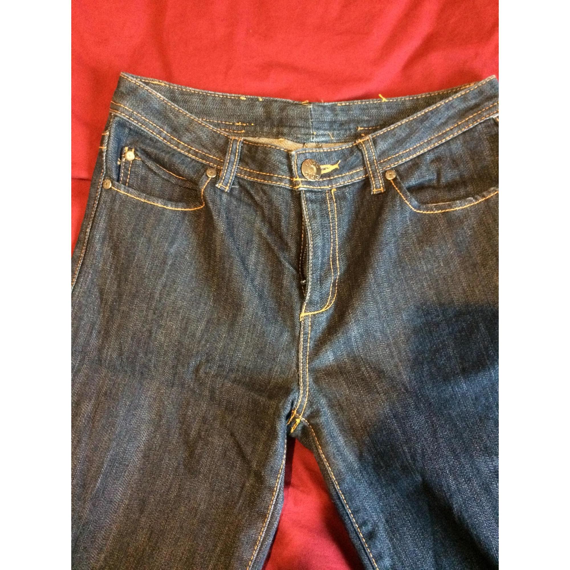 Jeans évasé, boot-cut MARQUE INCONNUE Bleu, bleu marine, bleu turquoise