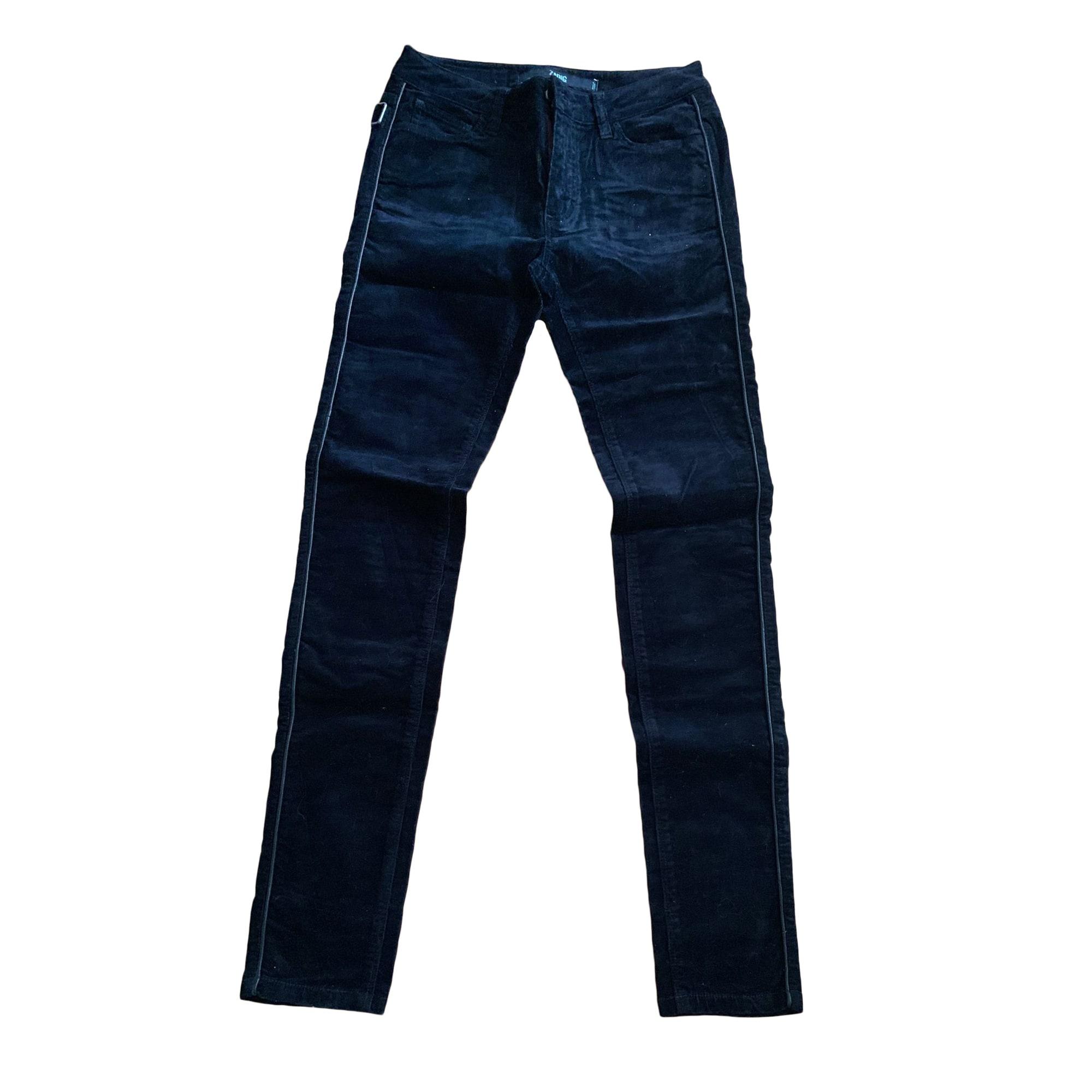 Jeans slim ZADIG & VOLTAIRE Bleu, bleu marine, bleu turquoise