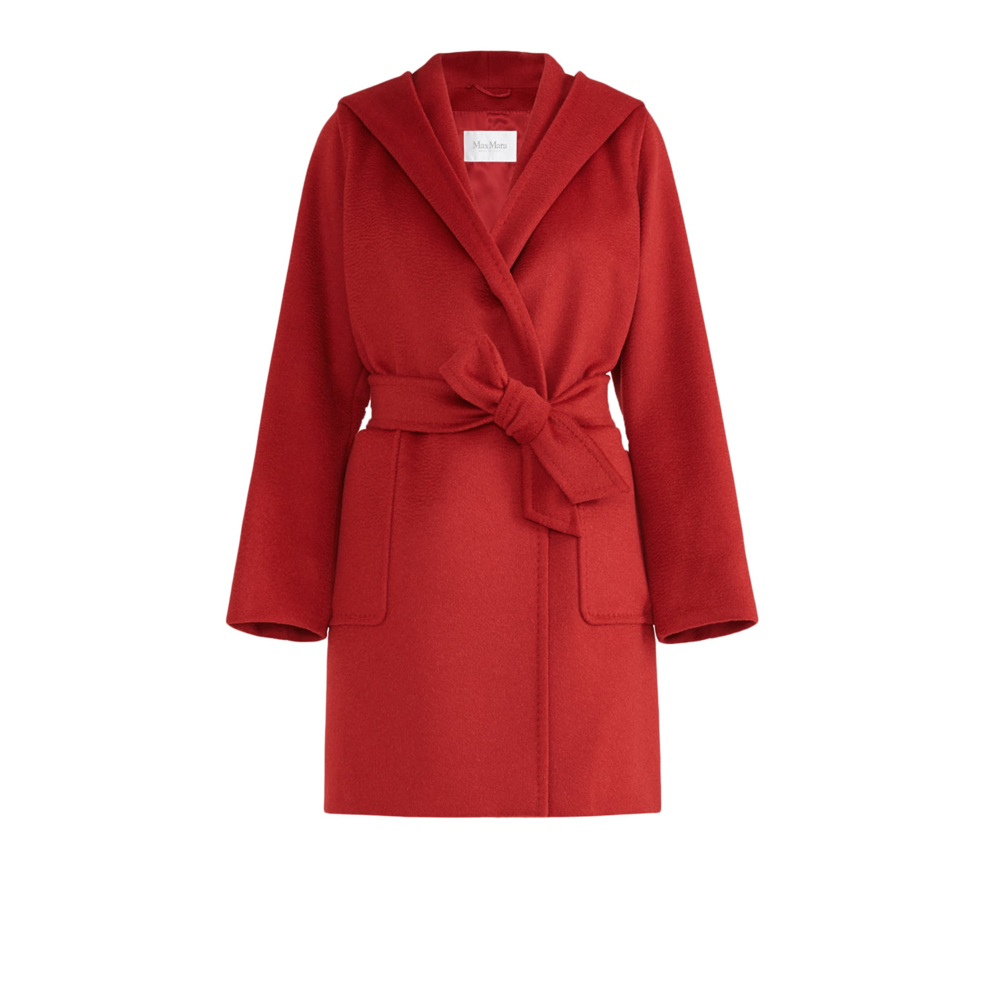 Manteau MAX MARA Rouge, bordeaux