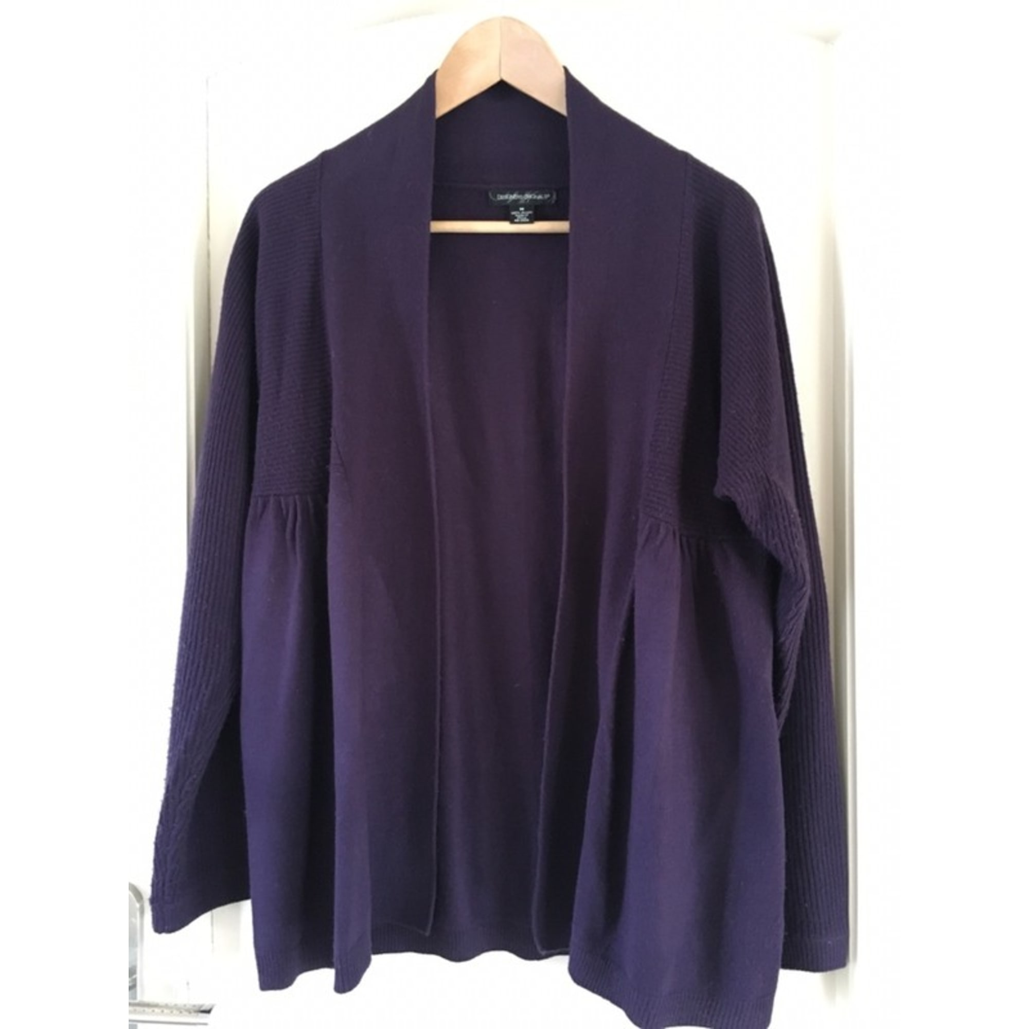 Gilet, cardigan DESIGNERS ORIGINALS Violet, mauve, lavande