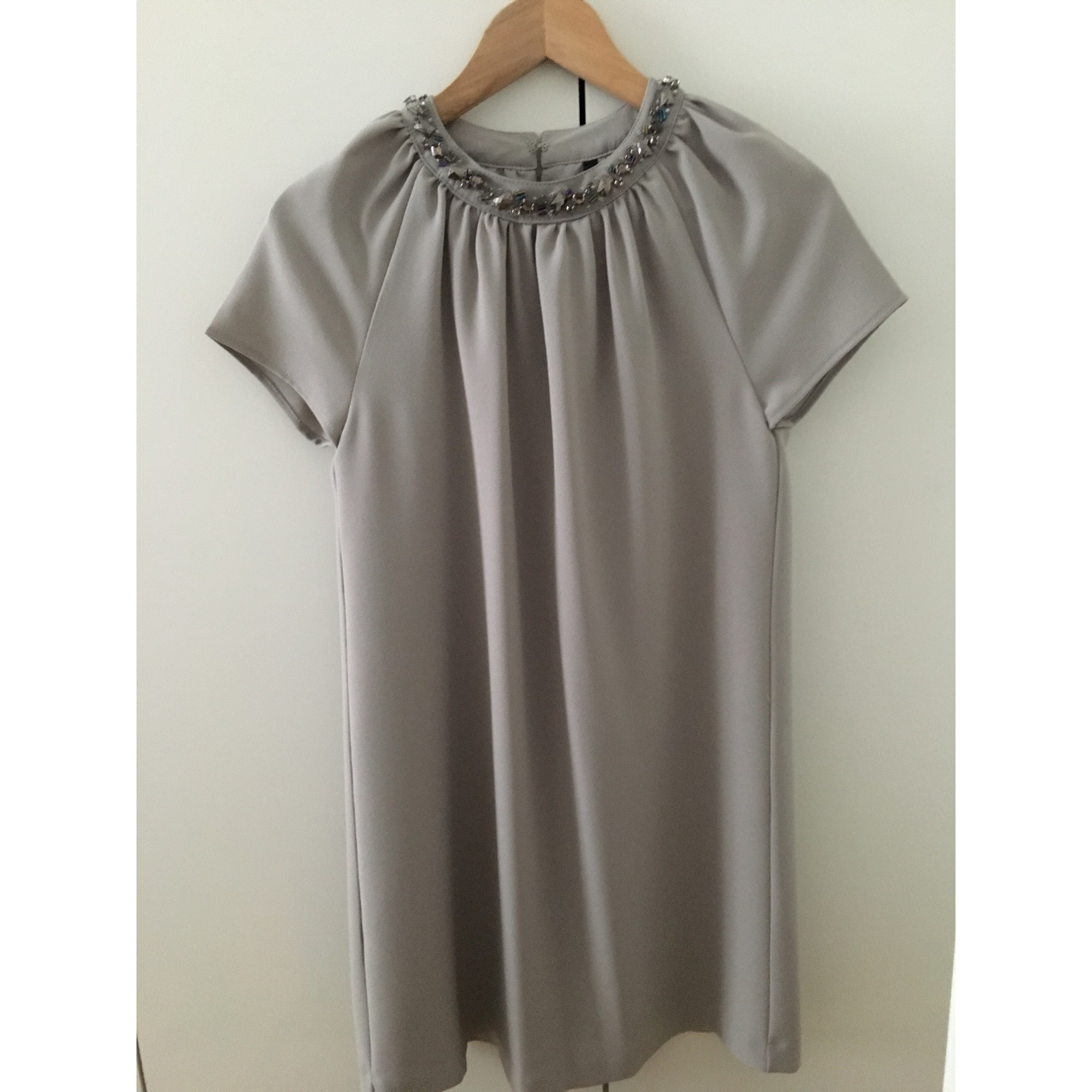 Robe courte MANGO Gris, anthracite