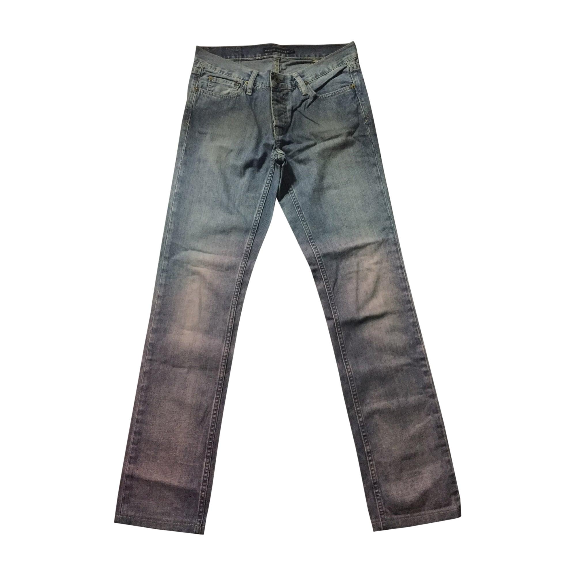 Jeans droit RALPH LAUREN Bleu, bleu marine, bleu turquoise
