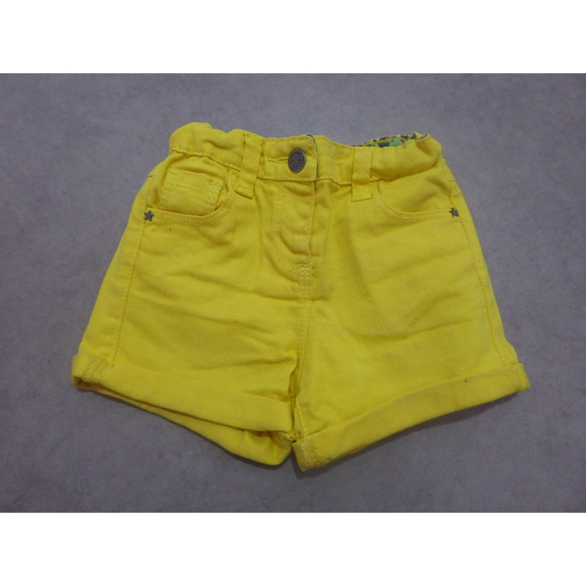 Shorts TAPE À L'OEIL Yellow