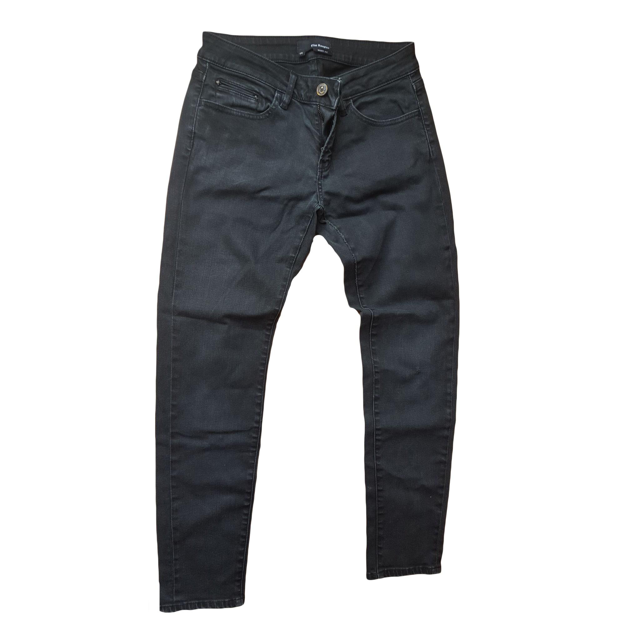 Pantalon slim, cigarette THE KOOPLES Marron