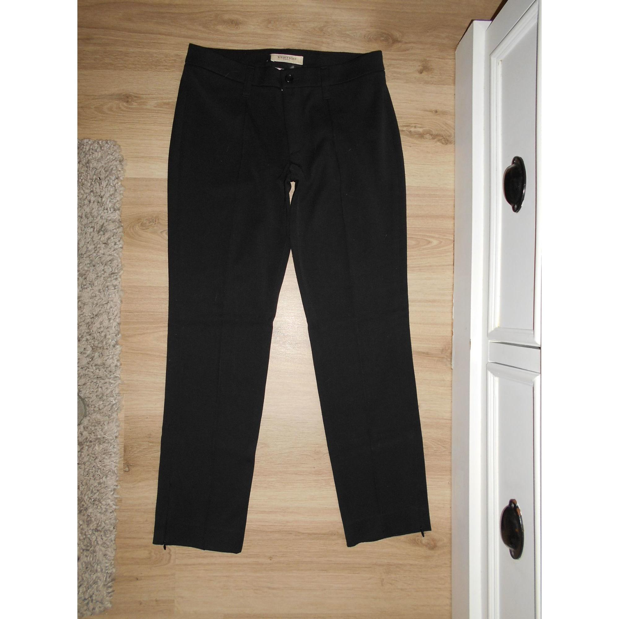 Pantalon slim, cigarette VERTIGO Noir