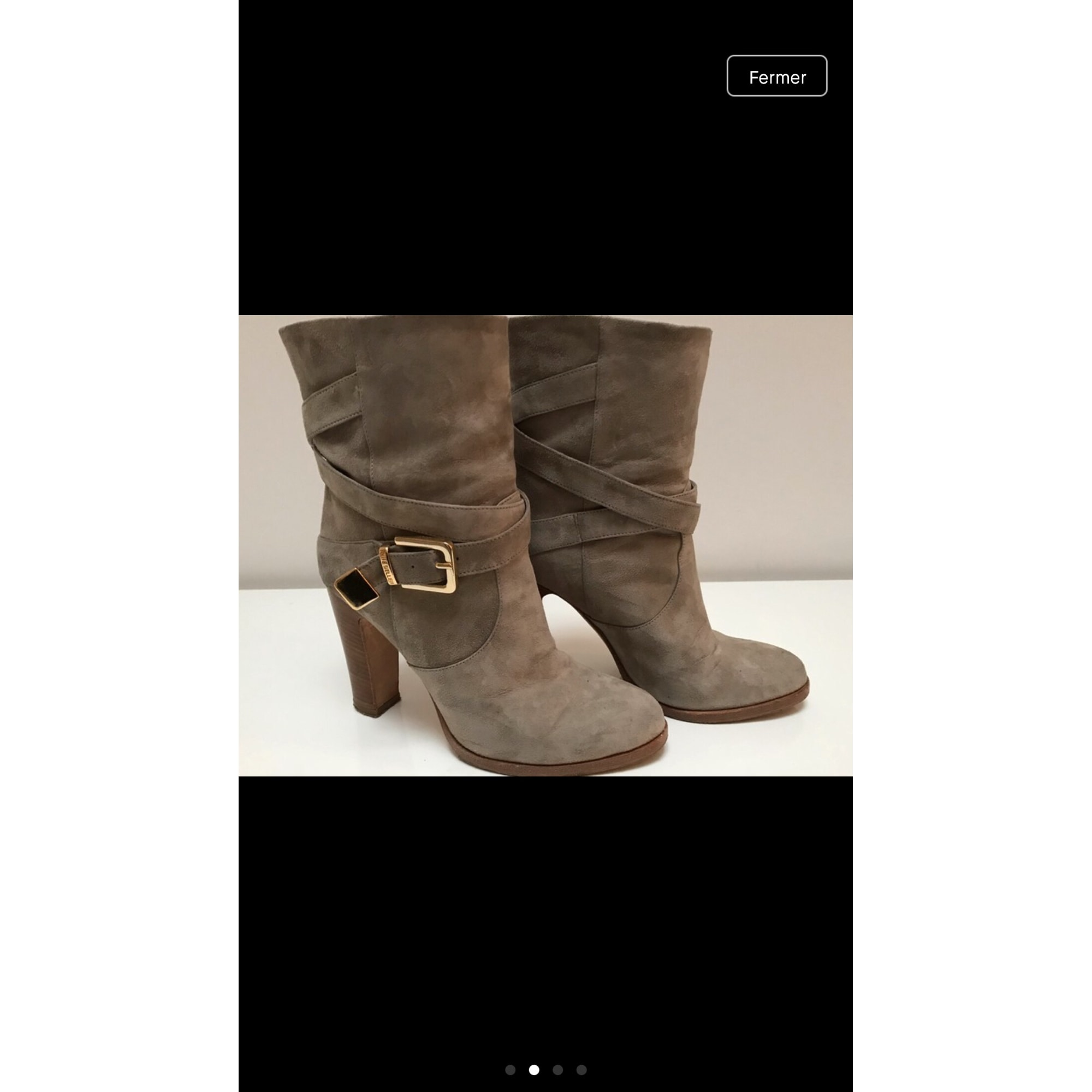 Bottines & low boots à talons THE SELLER Beige, camel