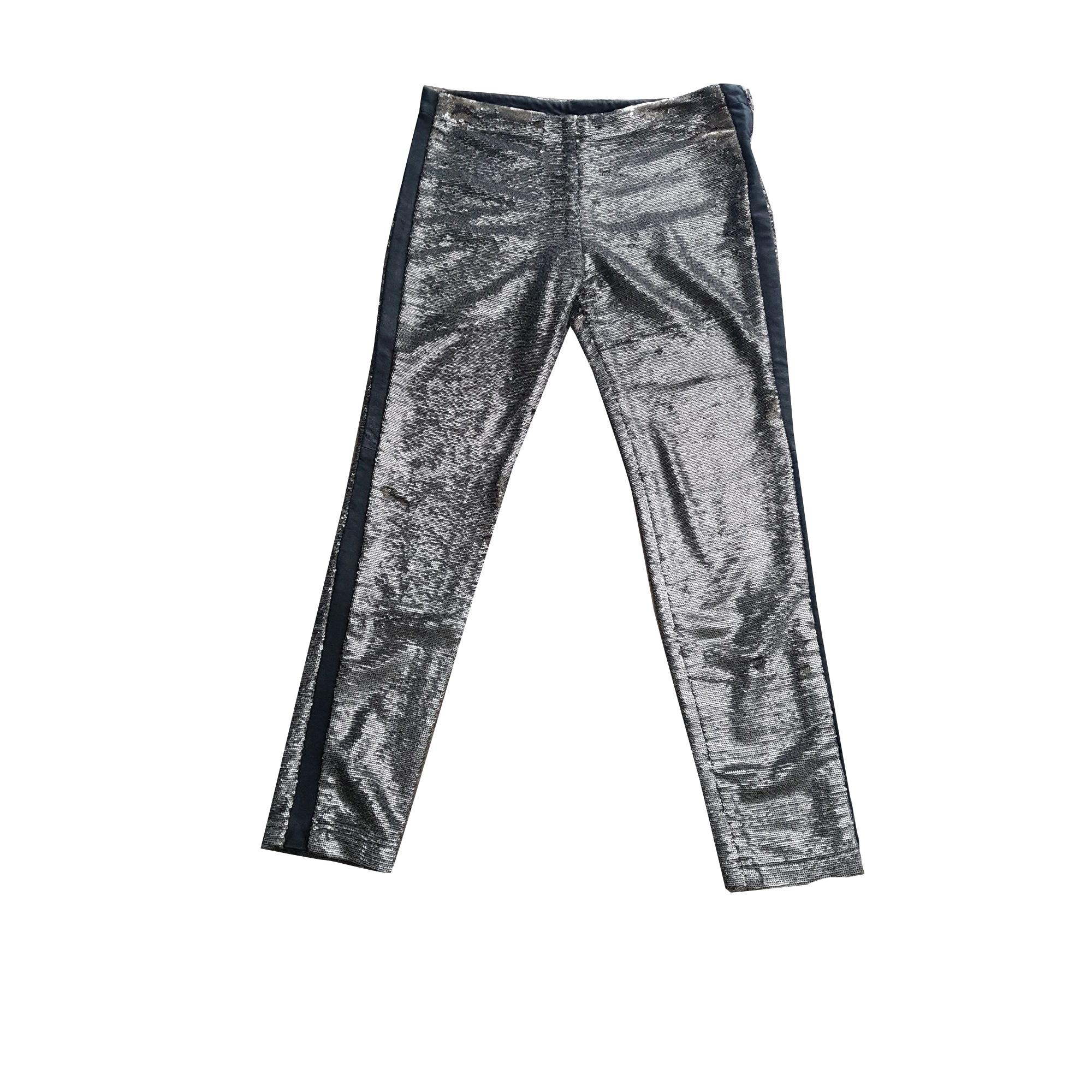 Skinny Pants, Cigarette Pants IRO Silver