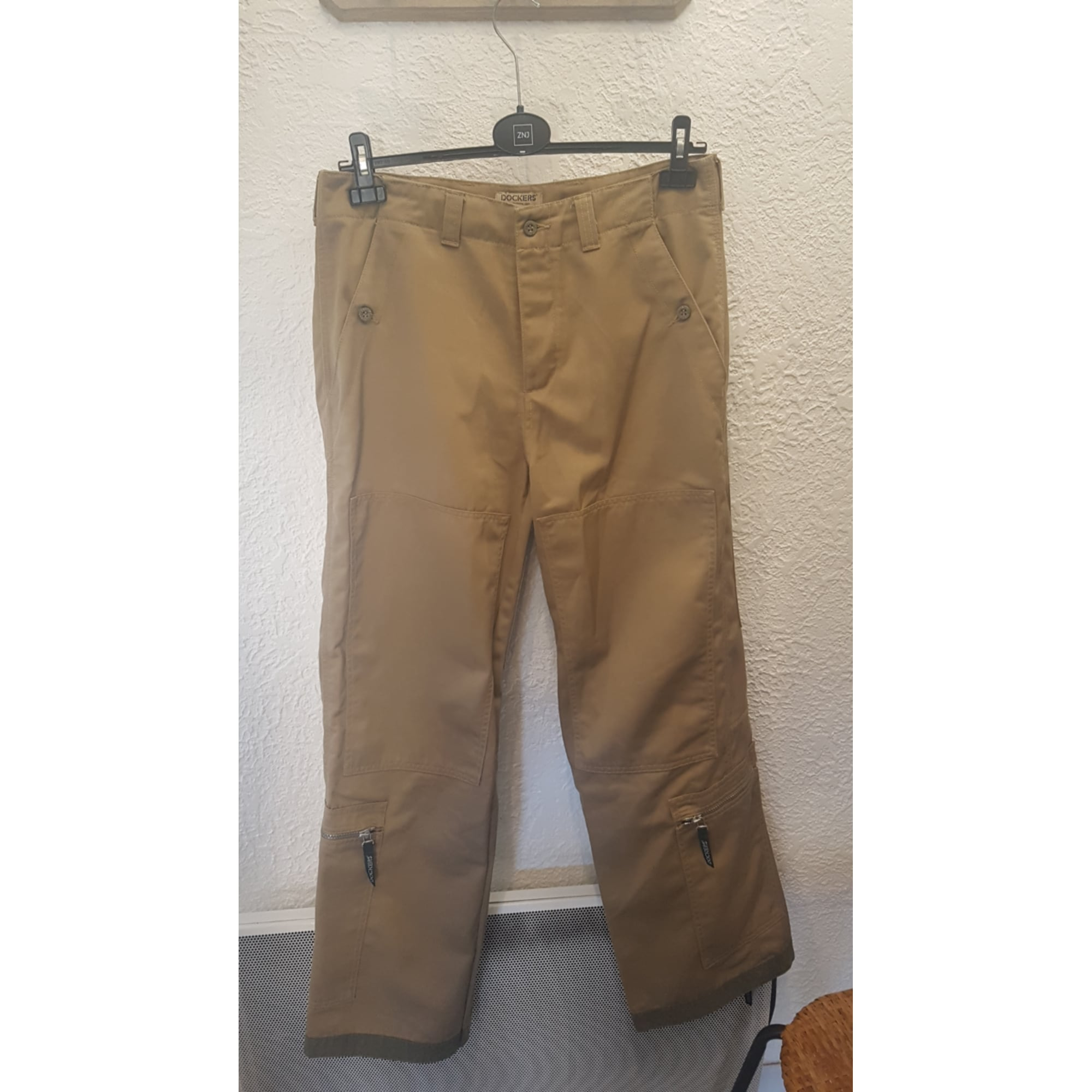 Pantalon large DOCKERS Beige, camel