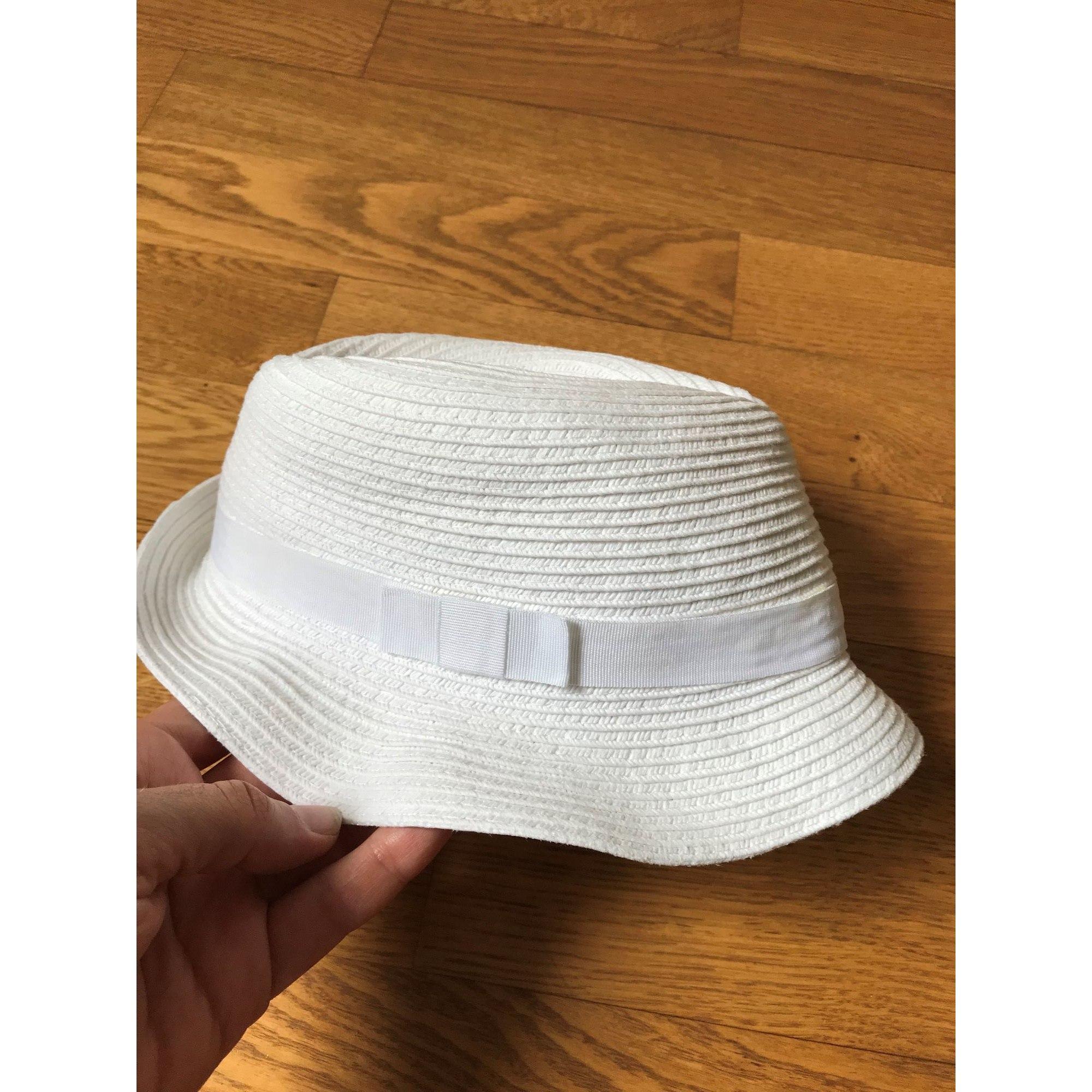 Chapeau BOUT'CHOU Blanc, blanc cassé, écru