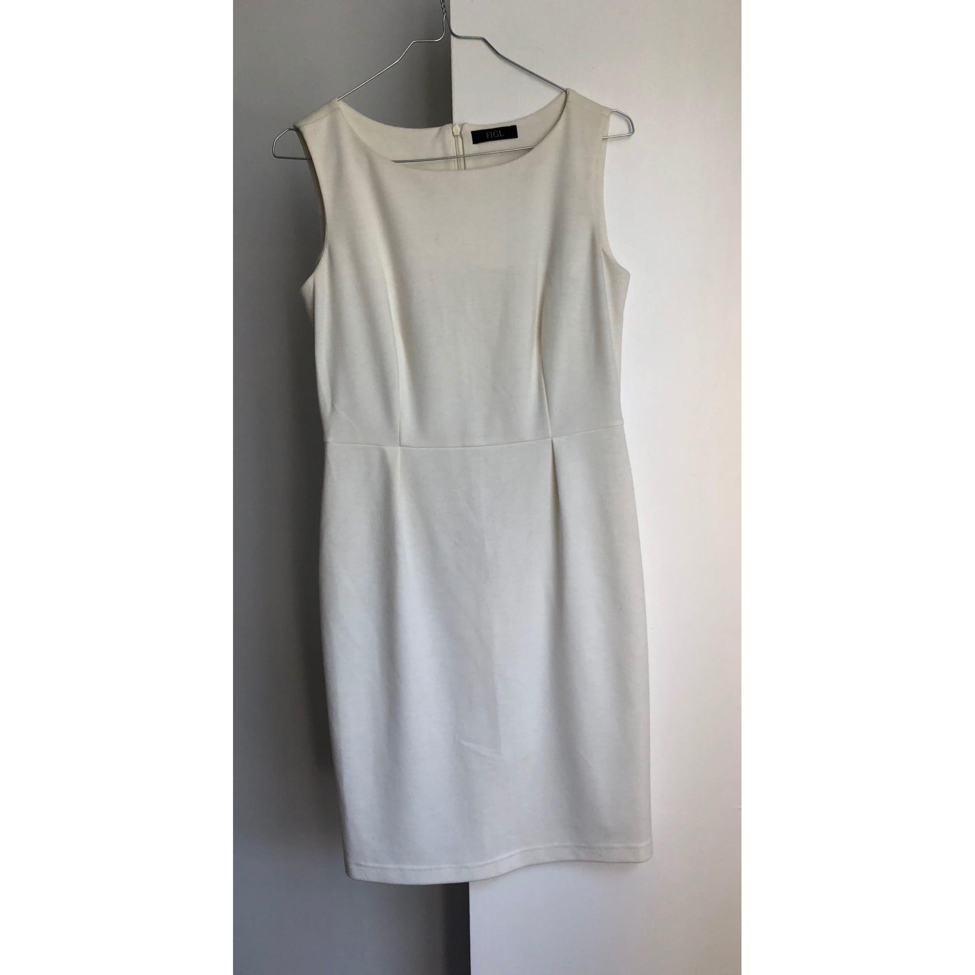 Robe mi-longue FIGL Blanc, blanc cassé, écru